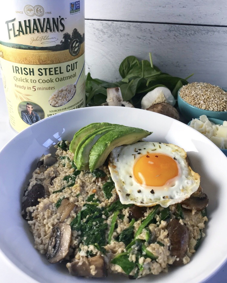 This post is sponsored by Flahavan's Irish Oatmeal, however, I am sharing my own thoughts. All opinions are my own.
