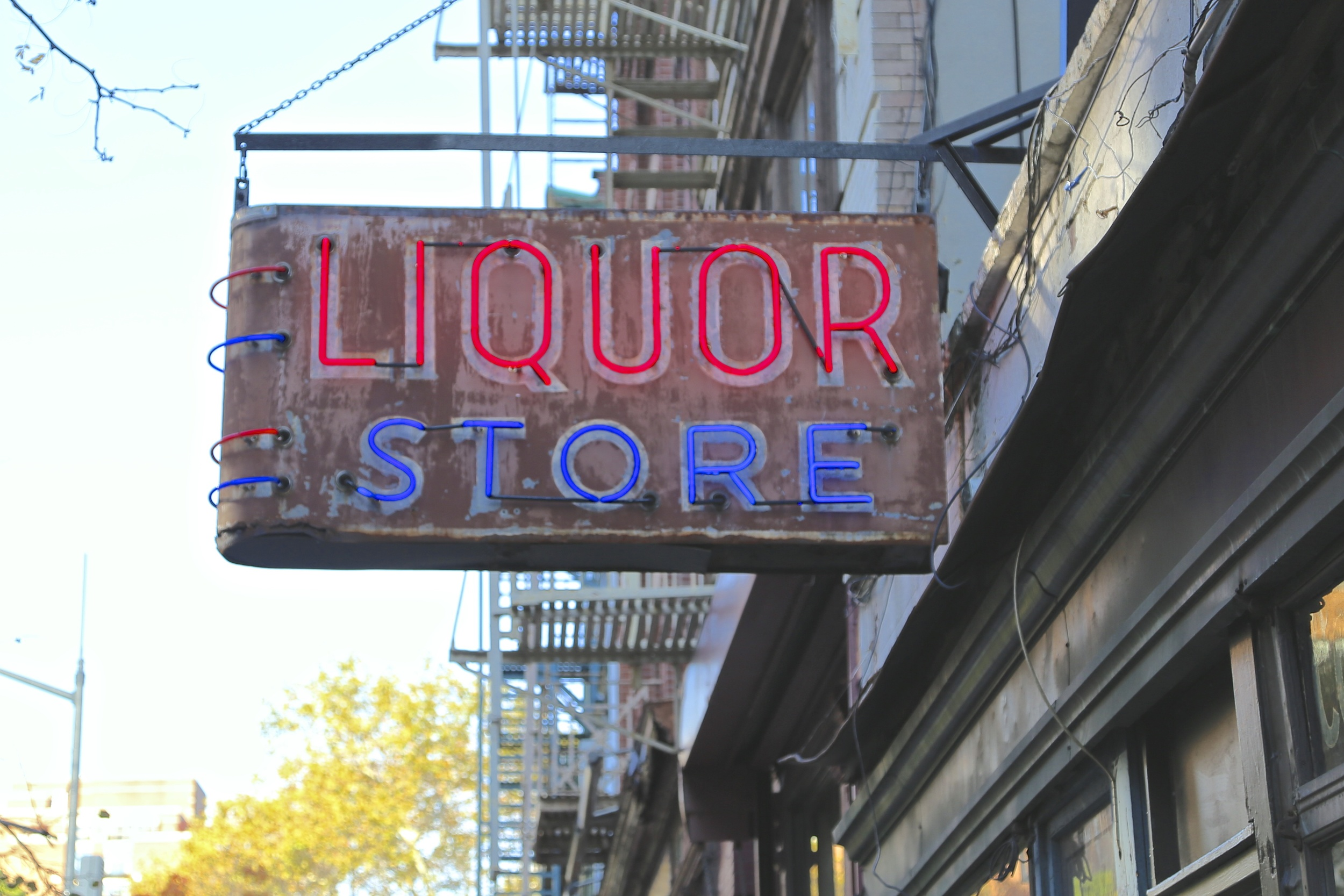 16.12.14  The J. Crew Liquor Store, Hook & Ladder 8 and La Columbe Café Tribeca.