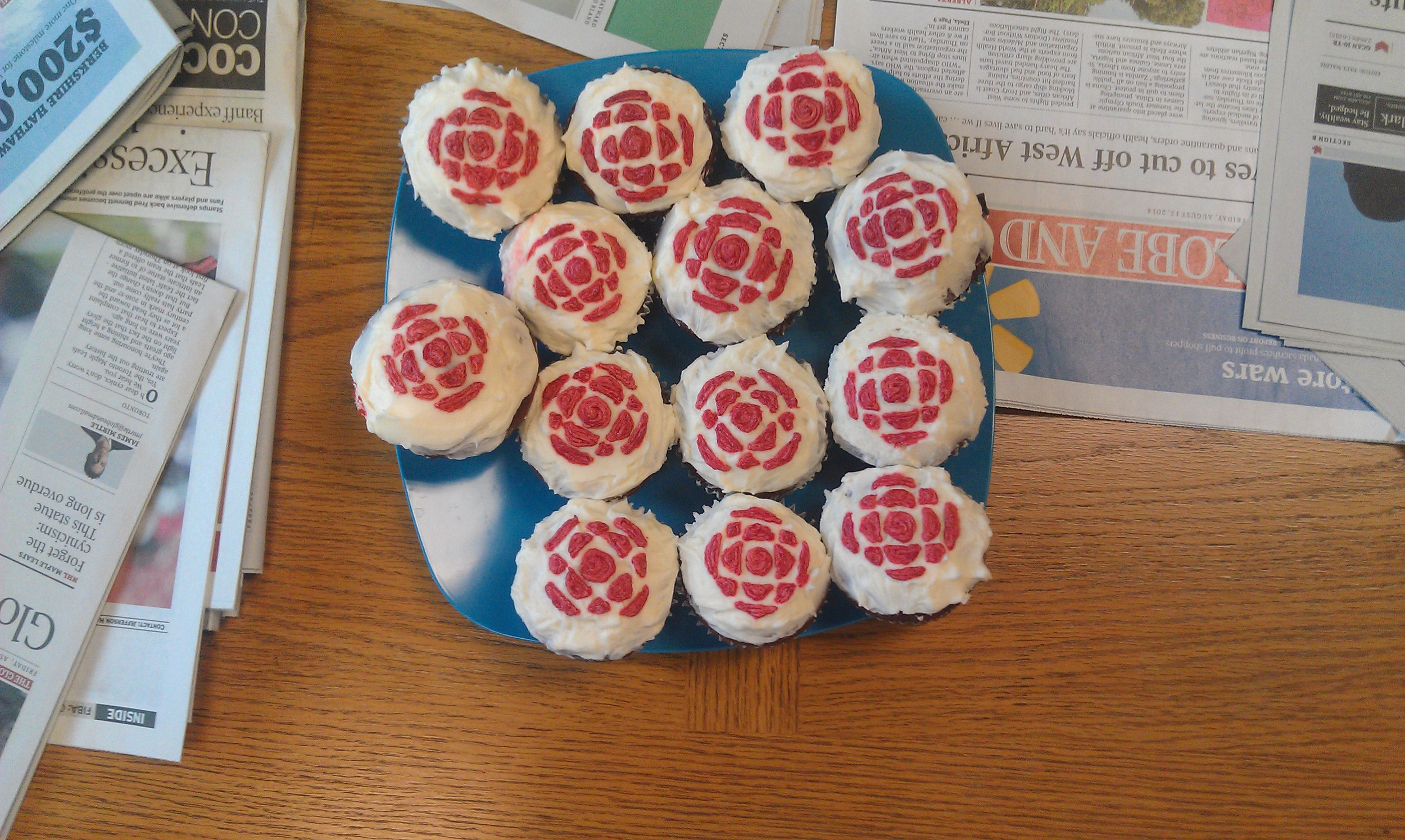 Some farewell cupcakes!