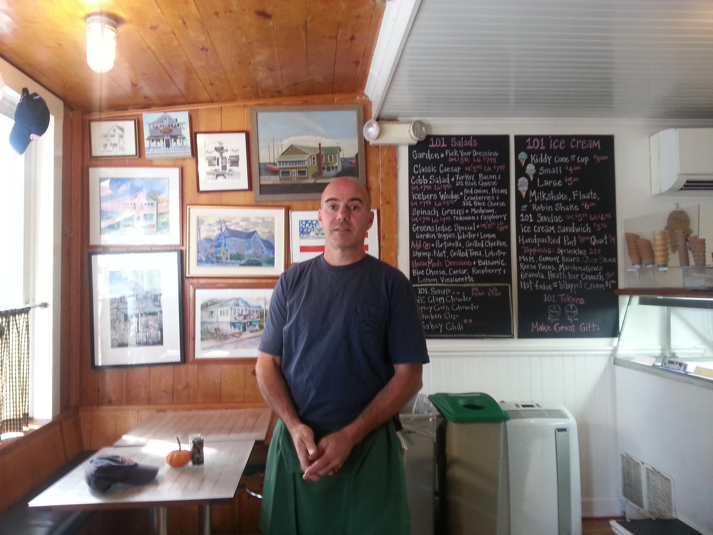Brendan McGee owner and proprietor for over 27 years.