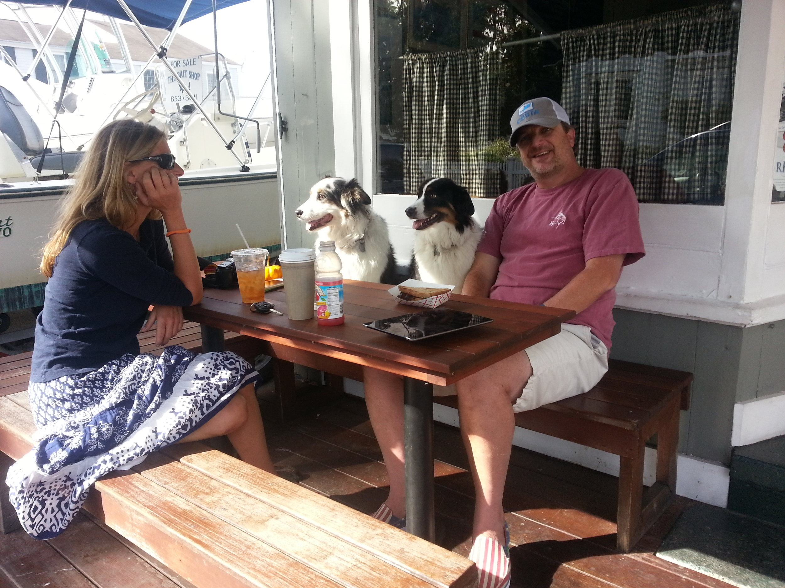 Where else can you have breakfast with your pups?