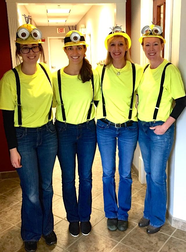 Minion Team: Justine, Sara, Diane, Tammy