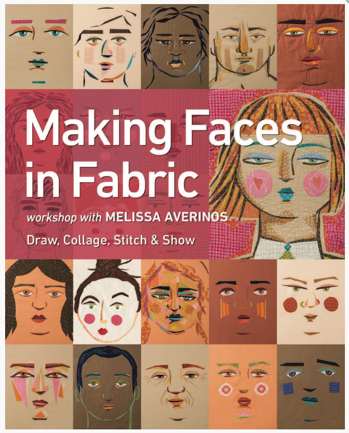 Making Faces in Fabric by Melissa Averinos