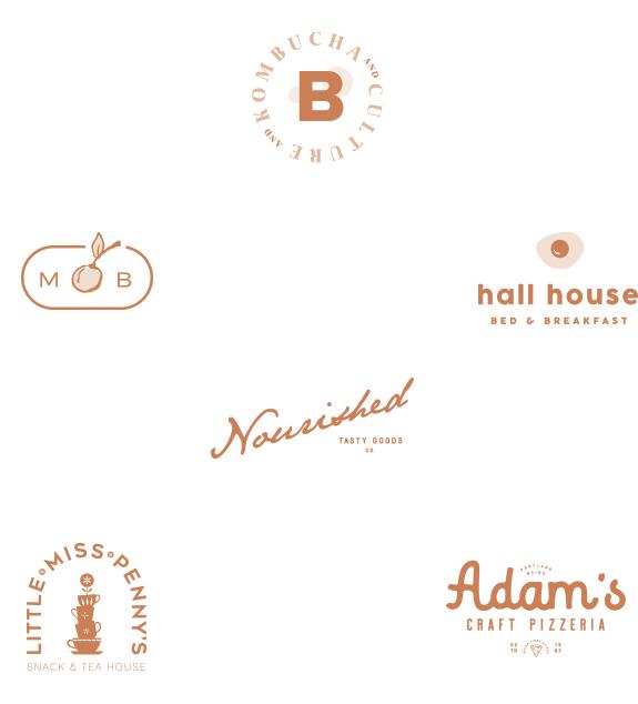 28 Logos by Meghan Lambert