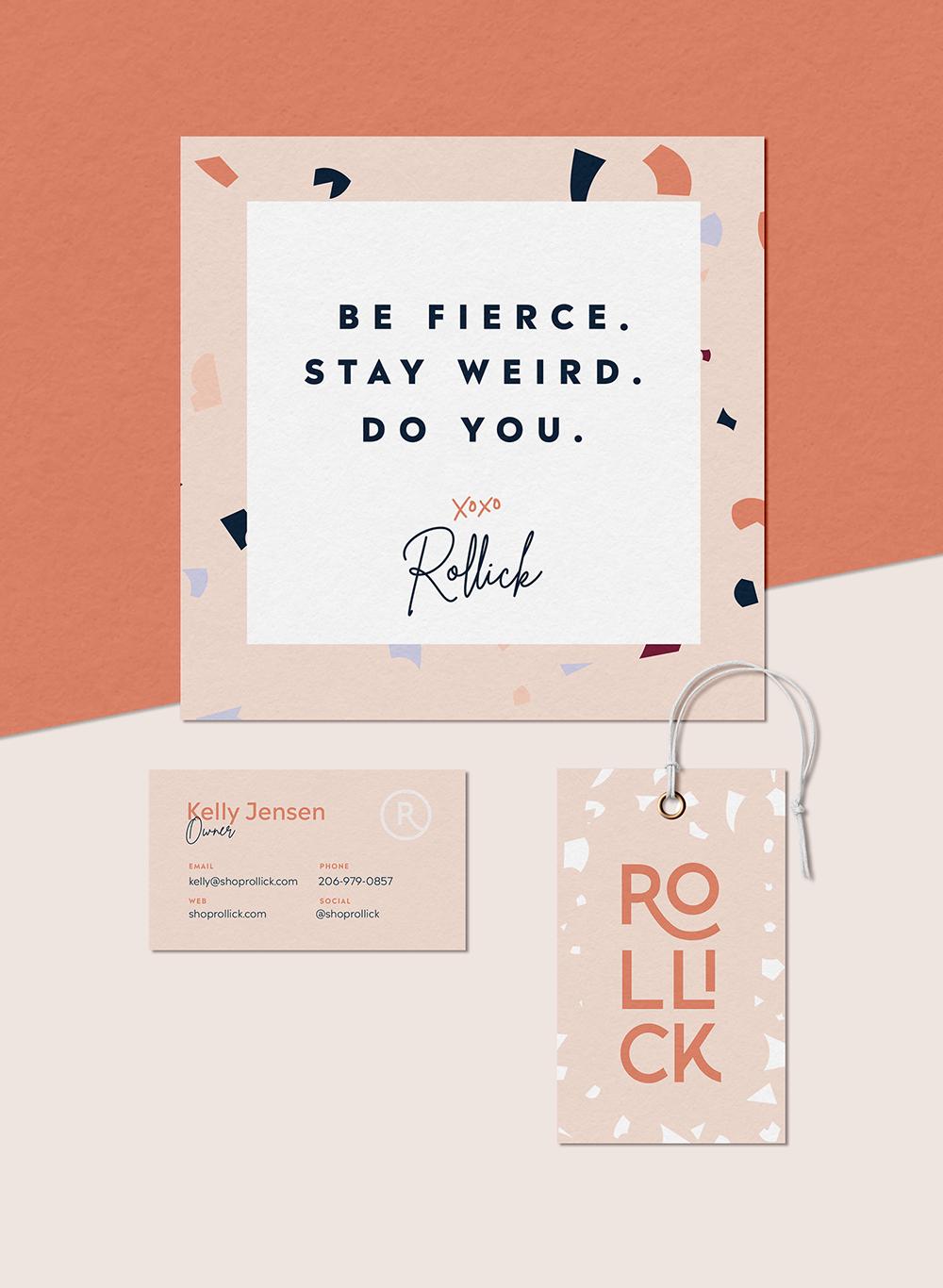 Rollick - Brand Design