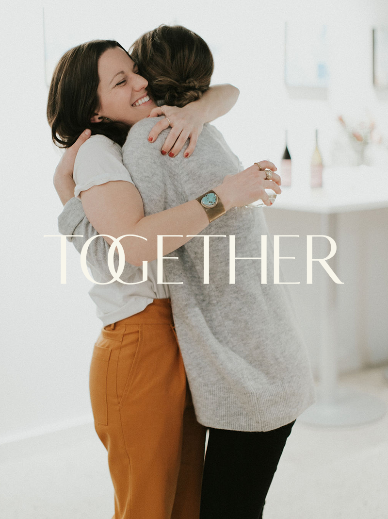 Together - Brand, Website, & Collateral Design