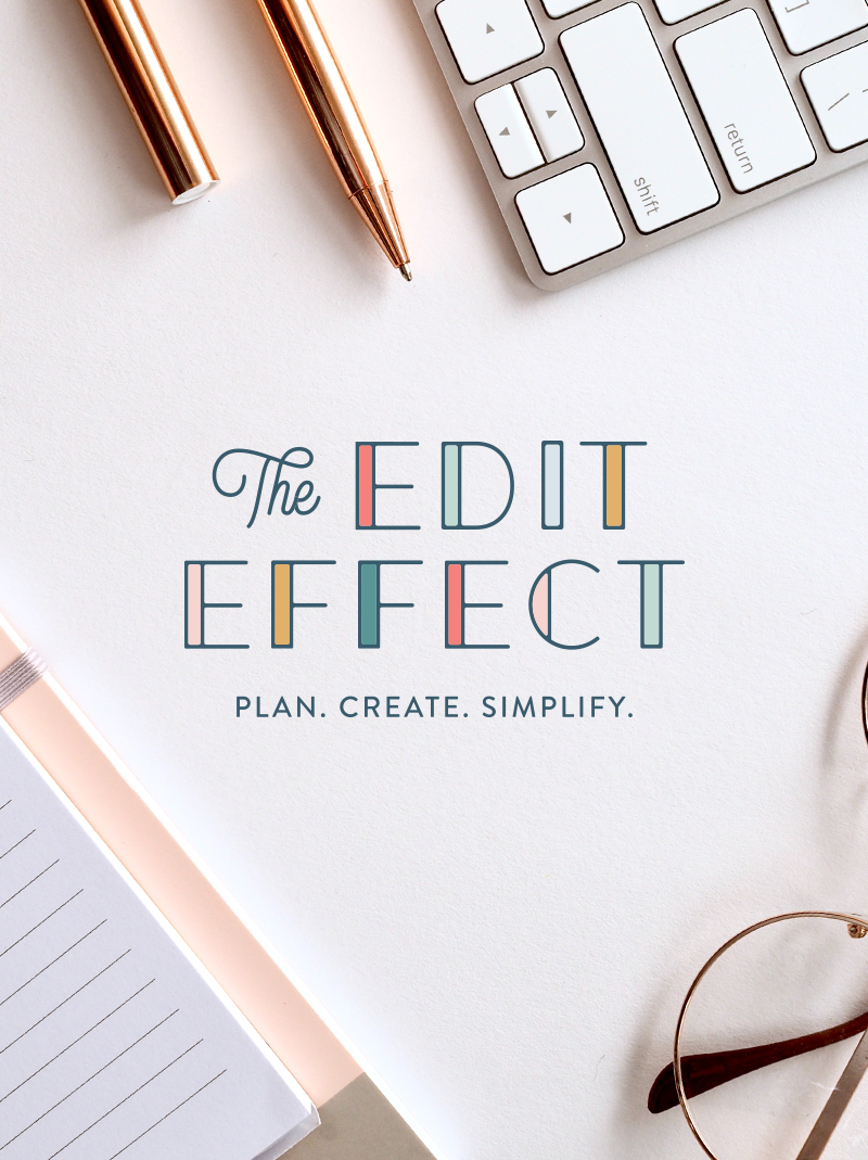 The Edit Effect - Brand Design