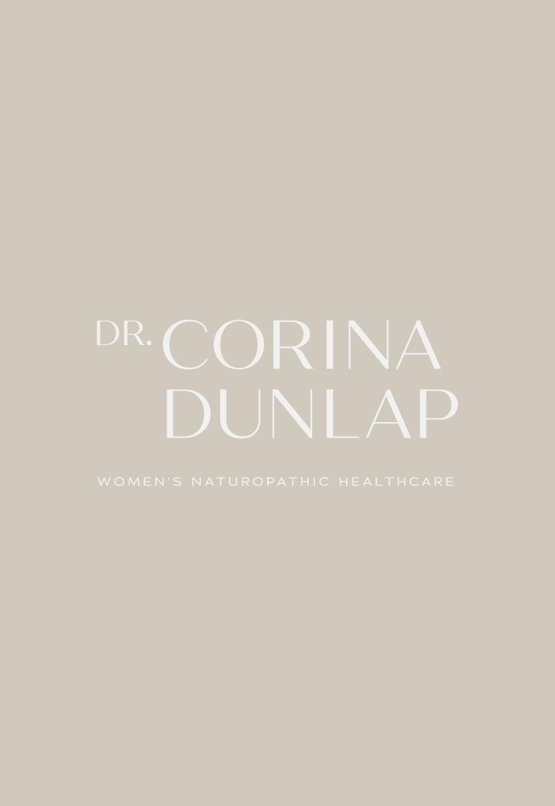 Dr. Corina Dunlap Brand Identity by Meghan Lambert