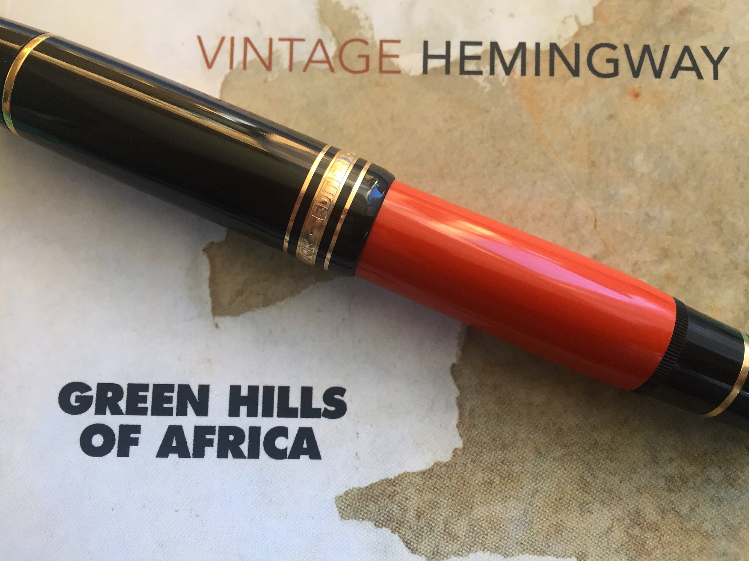 Montblanc Ernest Hemingway. Writers Edition series, 1992. Limited to 25,000 fountain pens.