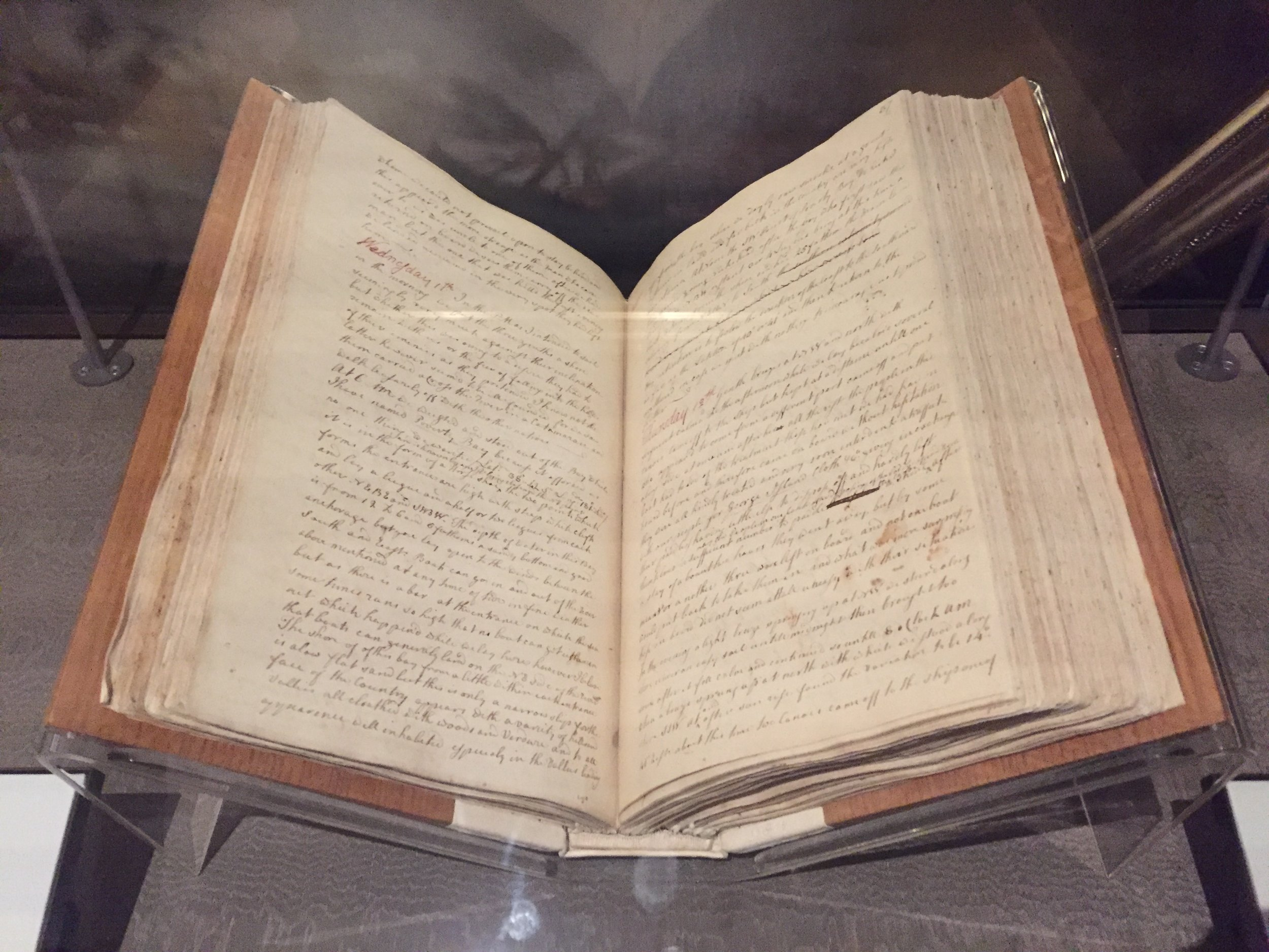Cook's journal from HMS  Endeavour , 1768-71.