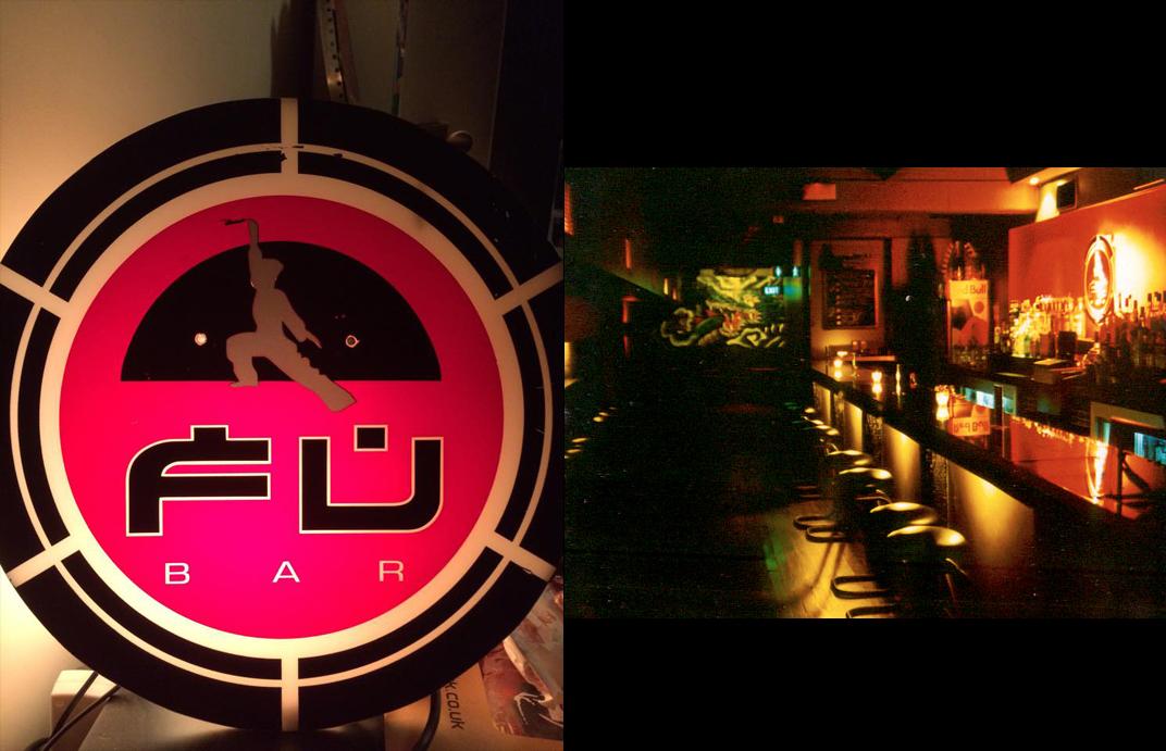 Above: The original Fu Bar Queen Street