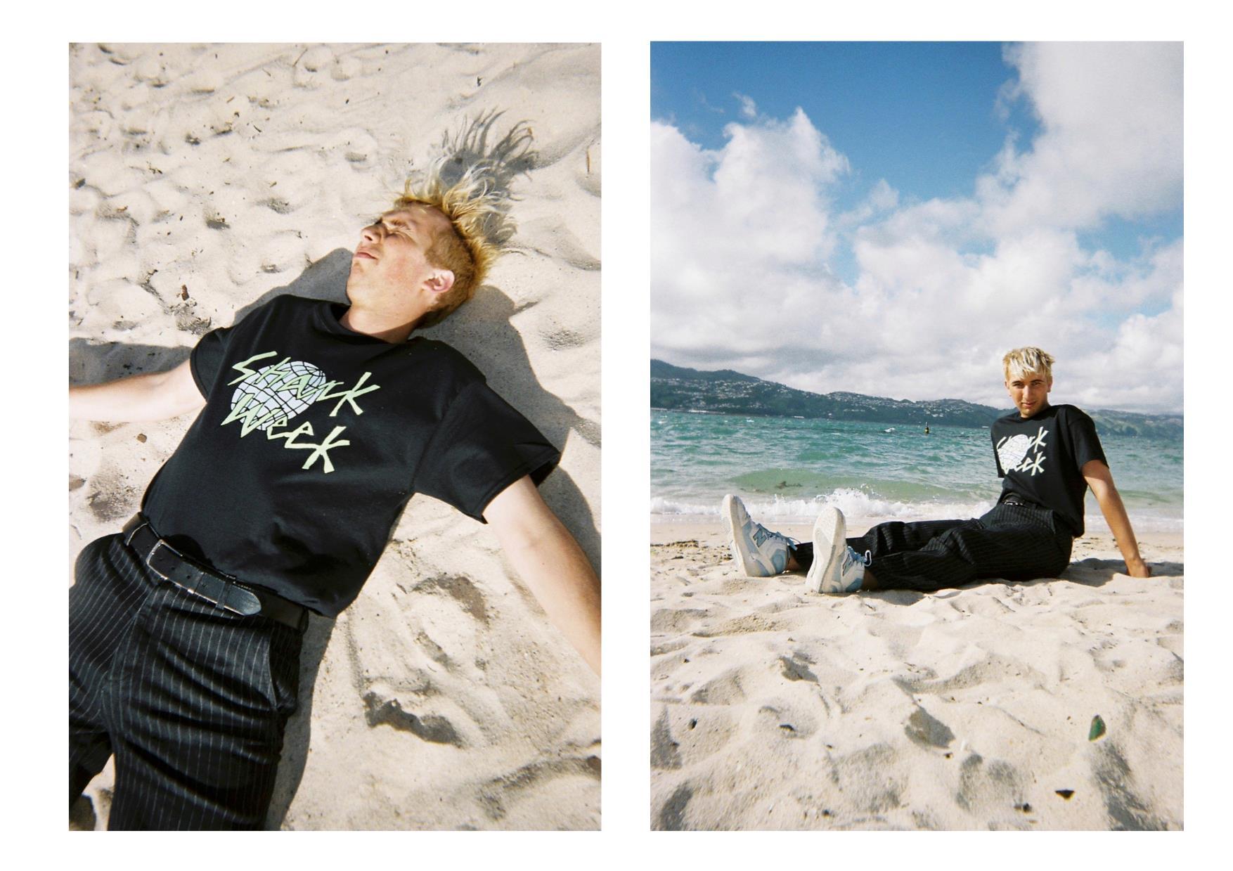Above: Beach Boy in Shark Week's summer campaign