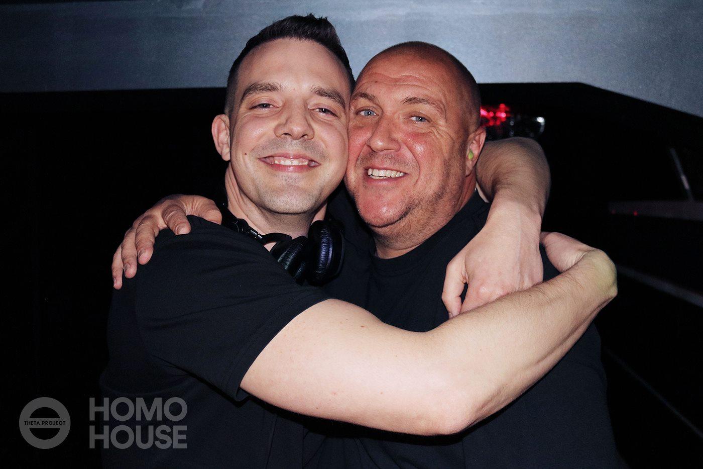 Jordan Eskra with Bobby Blanco