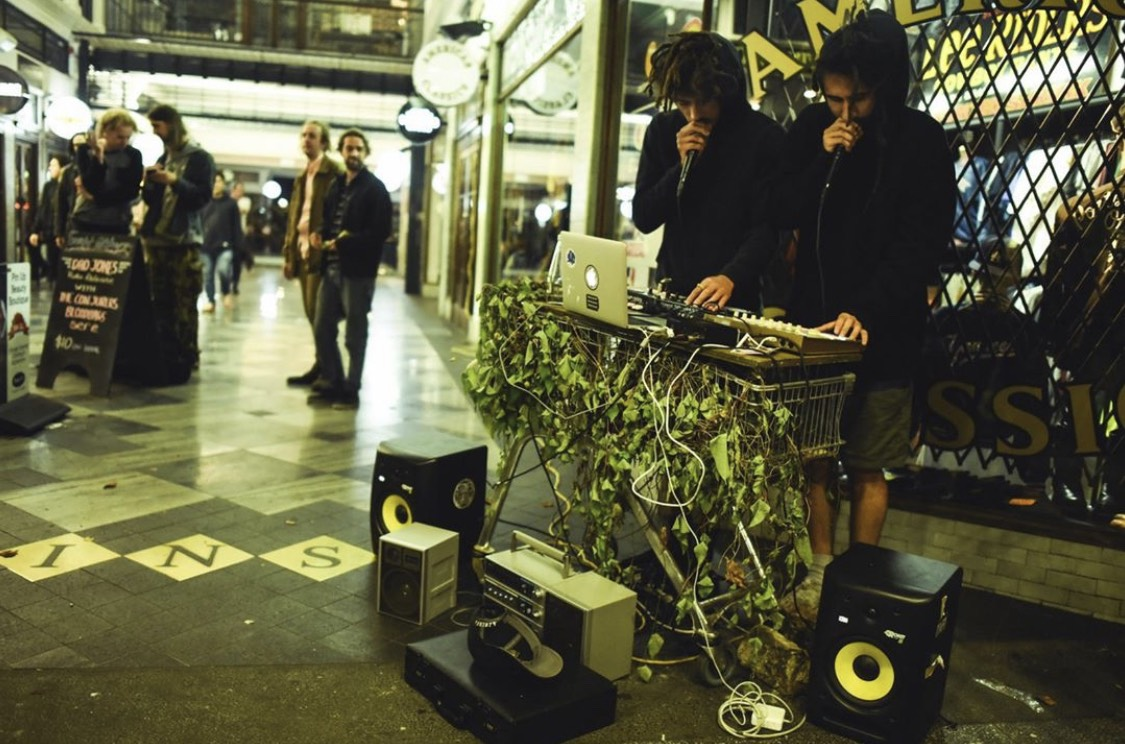 Badcrop in St Kevin's Arcade. Photo: Locapinay