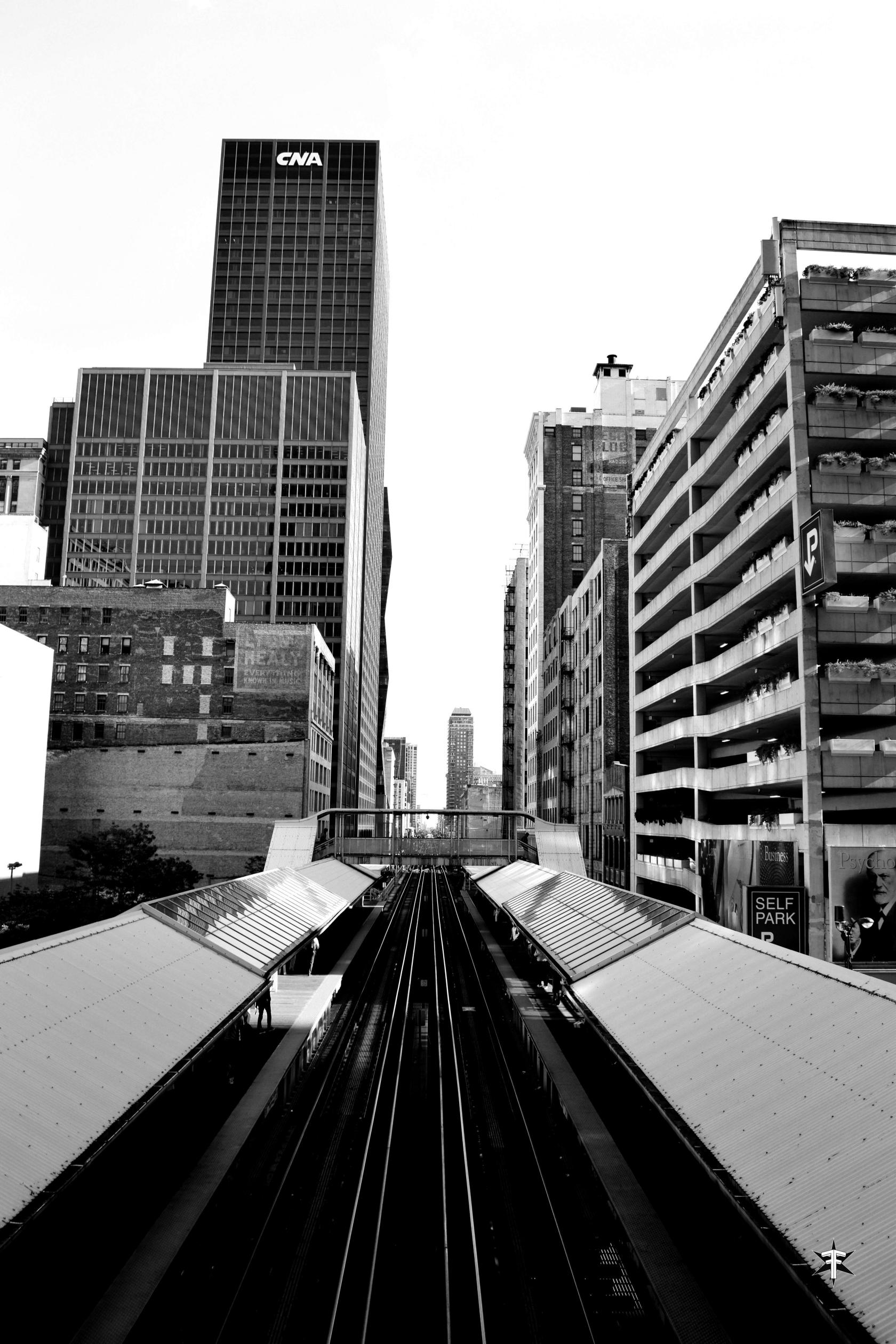 batch_cta chicago wabash loop train contrast buildings black and white.jpg