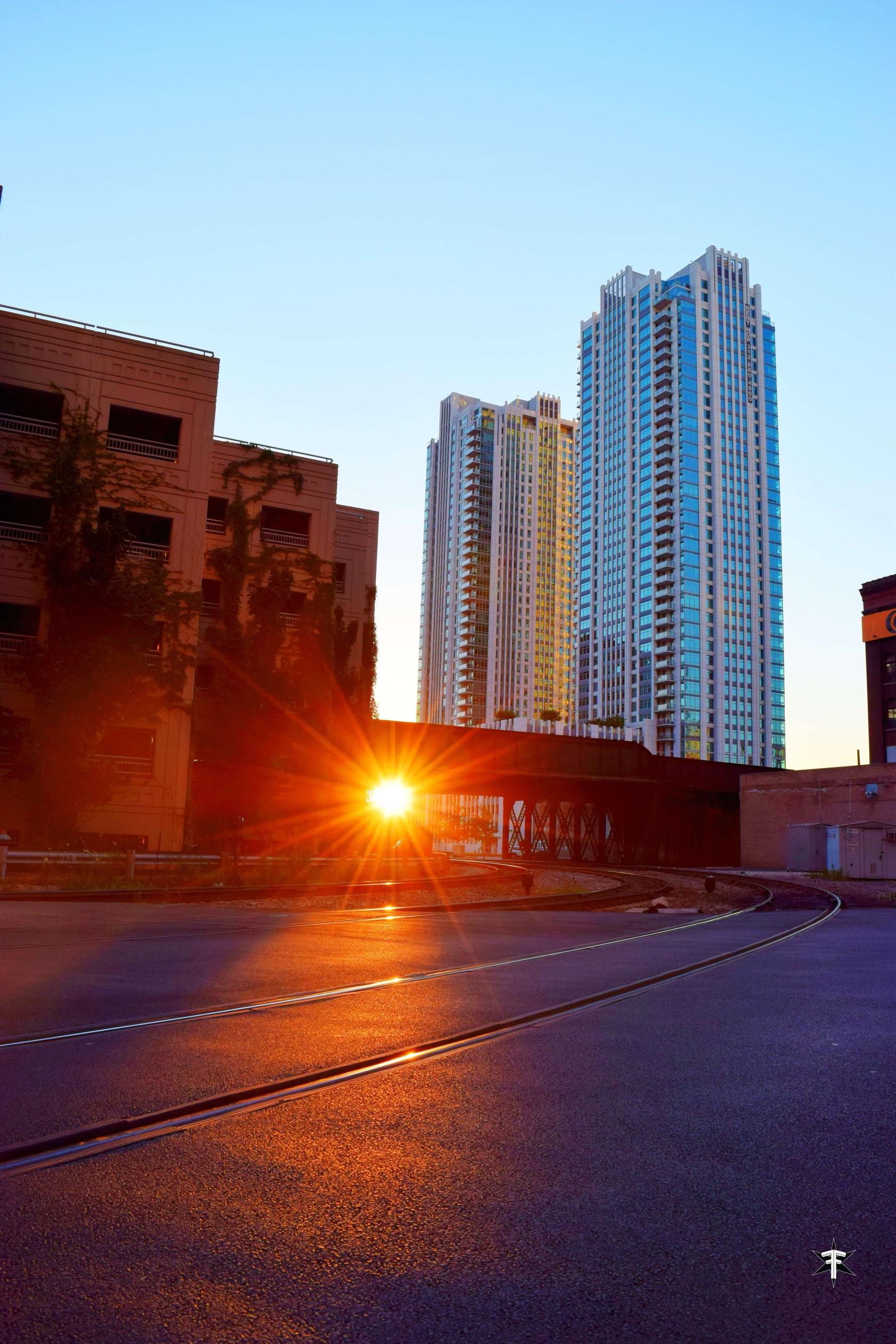 batch_sunset chicago sun architecture bridge light art light color.jpg