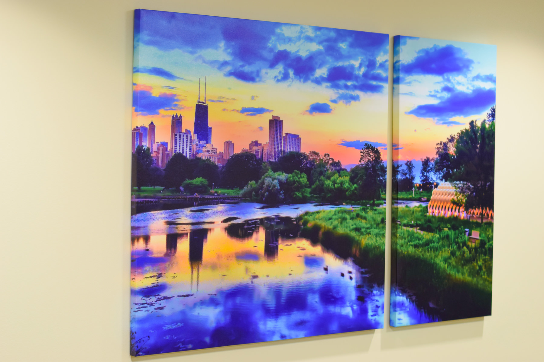 """Another Dual Split Canvas, up to 64X40"""" Available"""