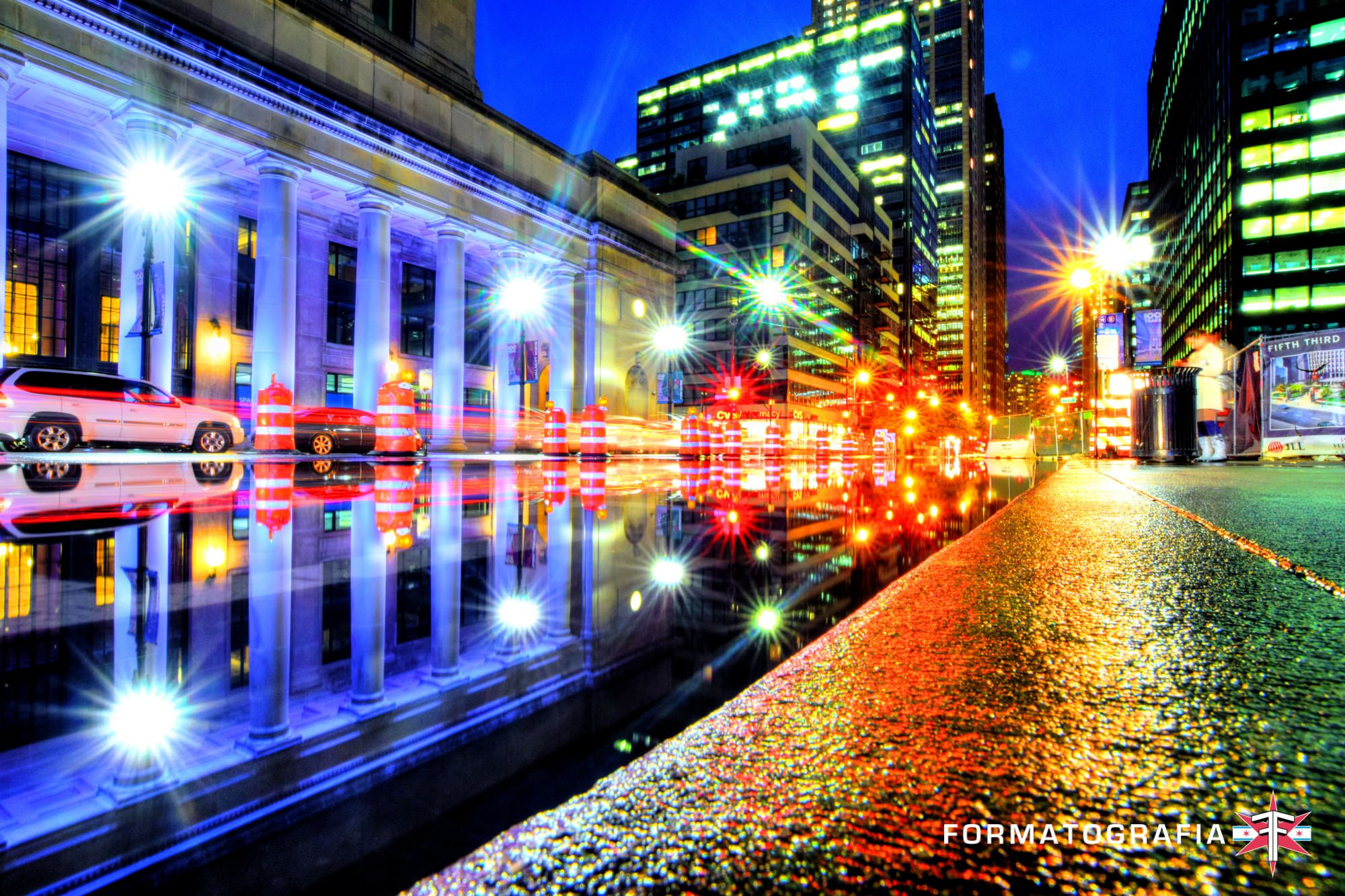 eric formato chicago photographer fall update city architecture shotsunion puddle 4 color pop.jpg