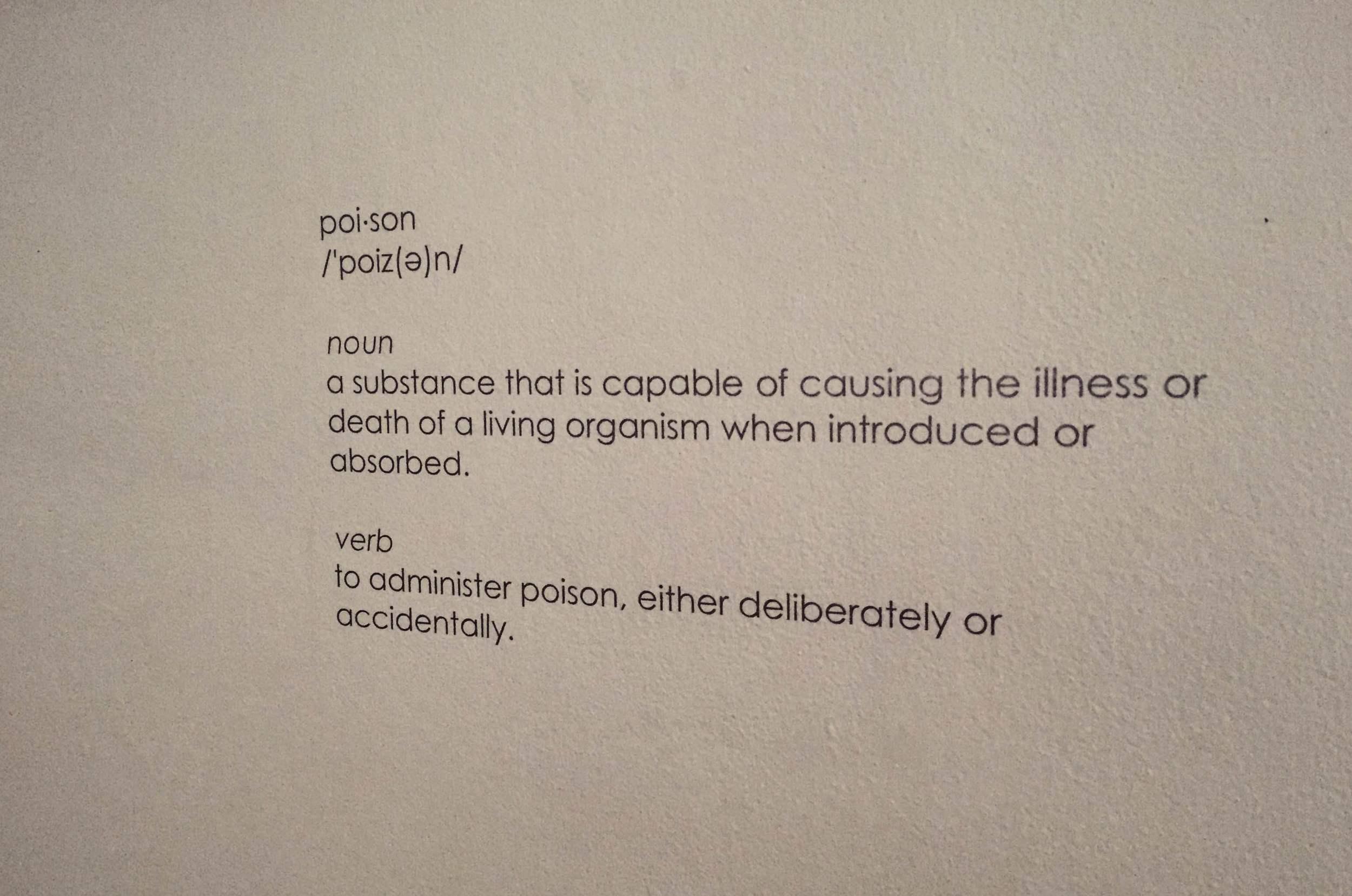 Via  Poison