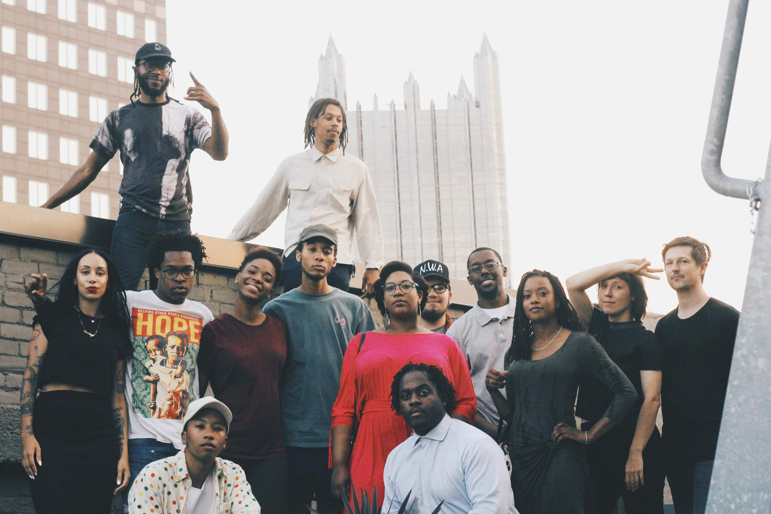 With Friends photographed by  Keep Pittsburgh Dope