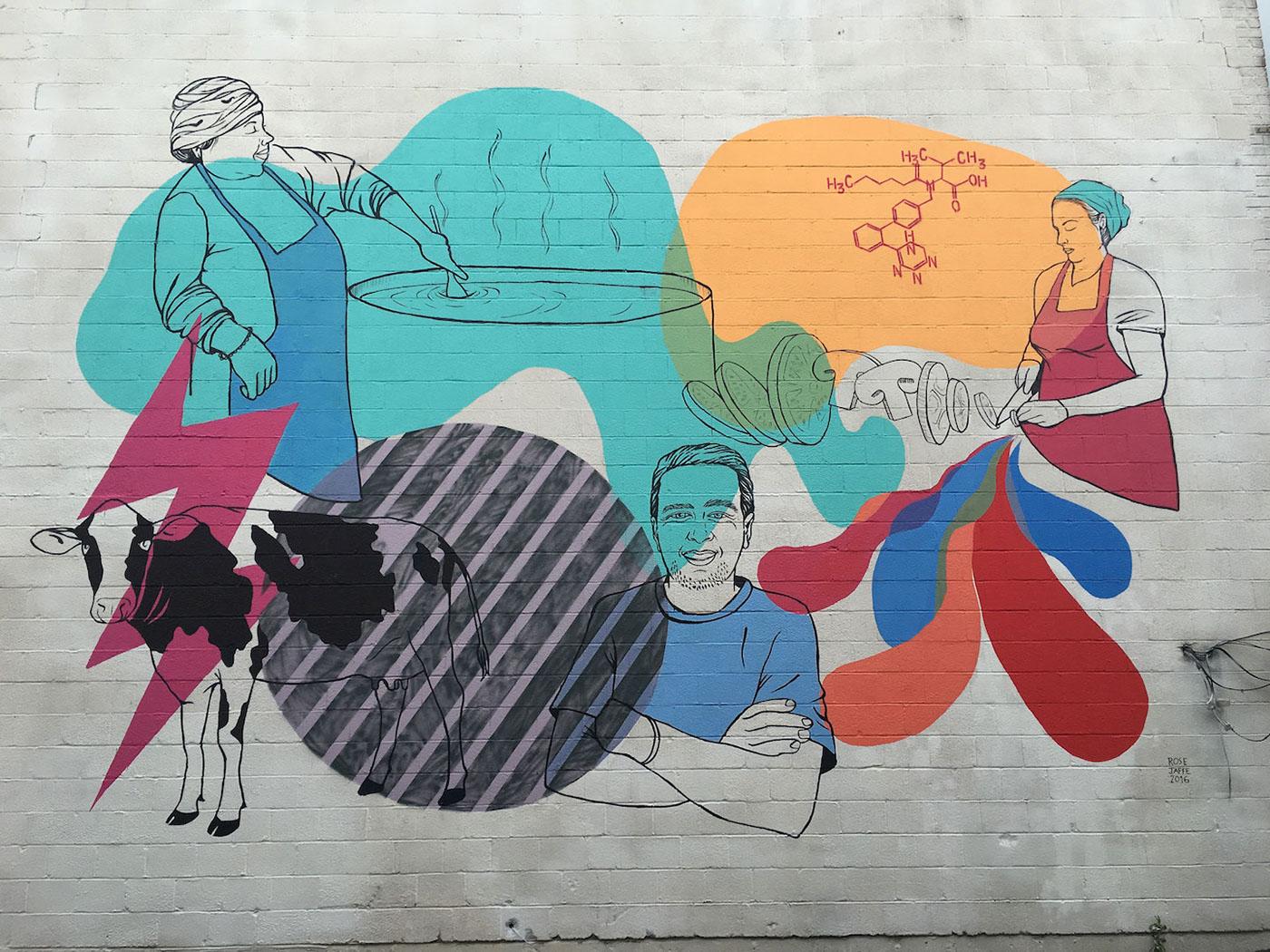 The TasteLab DC Mural