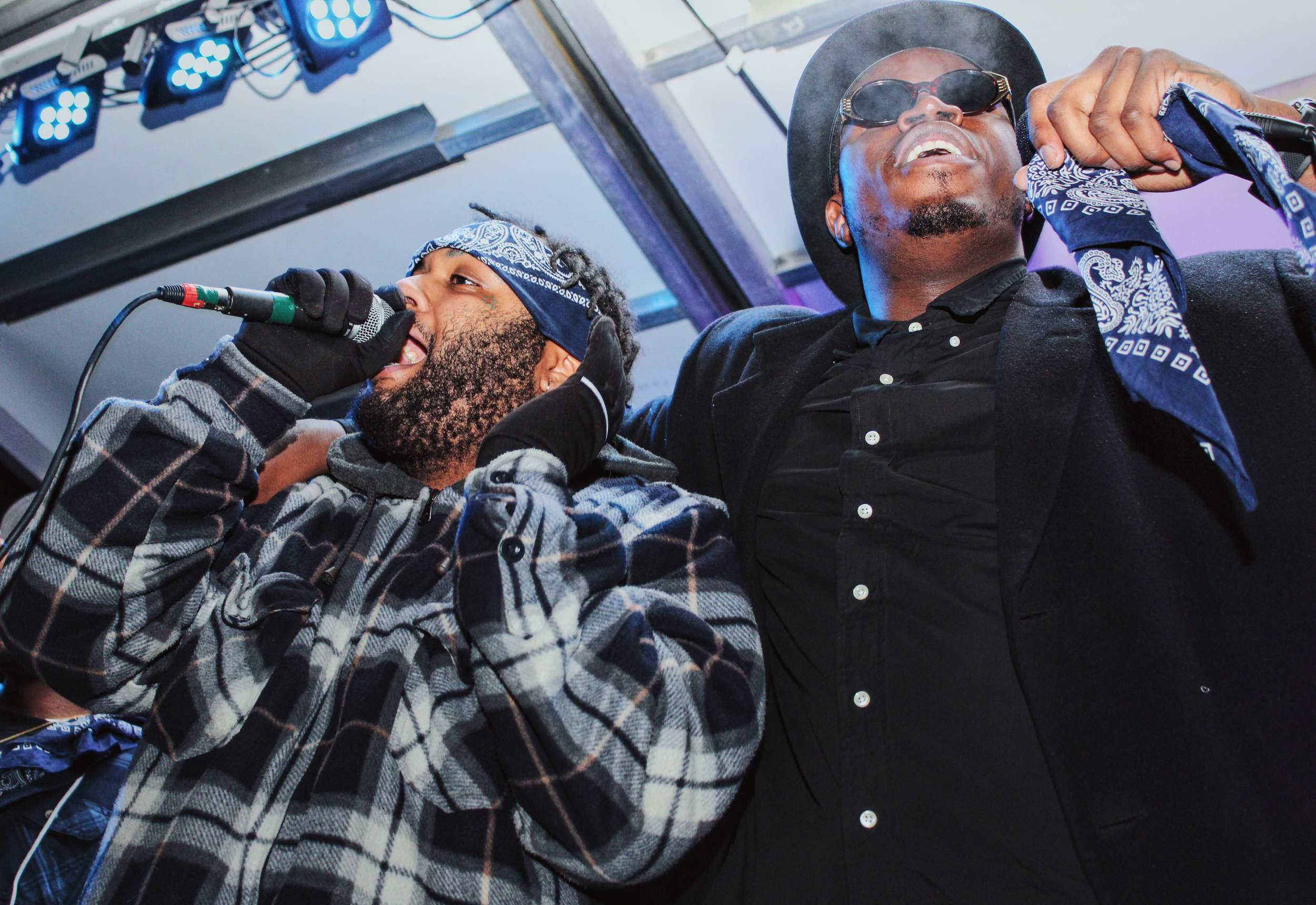 Kellz & Heem of the Knuccleheadz at the Strip District Music Fest [2016]   photo by Alex Young
