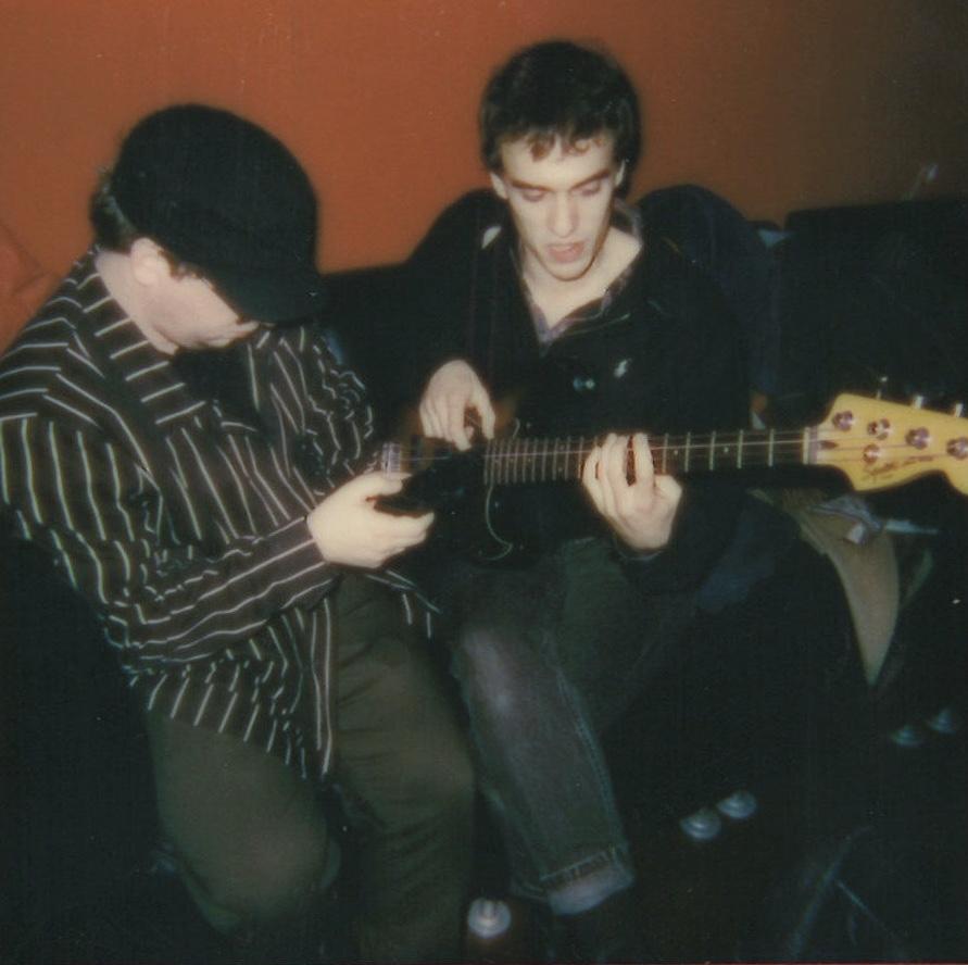 """Pendy on the keys"" (left) & Jesse Sattler (right)"