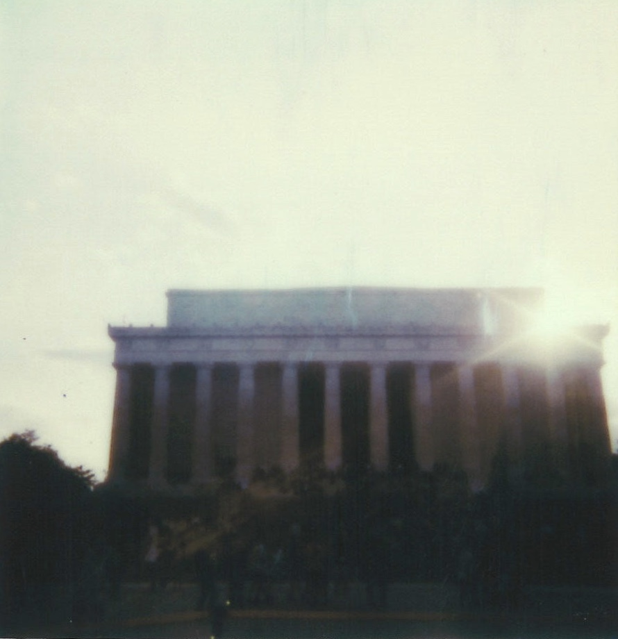 'Kwesi Lee Live' at The Lincoln Memorial, featuring  Nag Champa Art Ensemble  5/17/2019, Polaroids by Maxwell Young