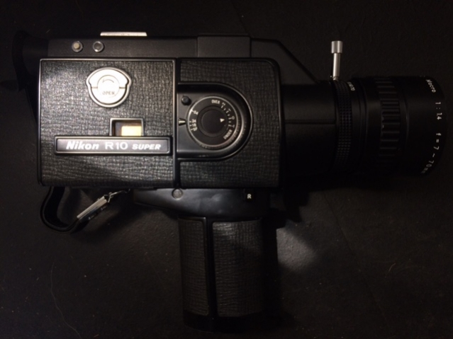 The Arriflex of Super 8 cameras. For film nerds this refers to the first reflex movie camera made by Arri for motion picture productions. So awesome!!!!!!!!!!! lol