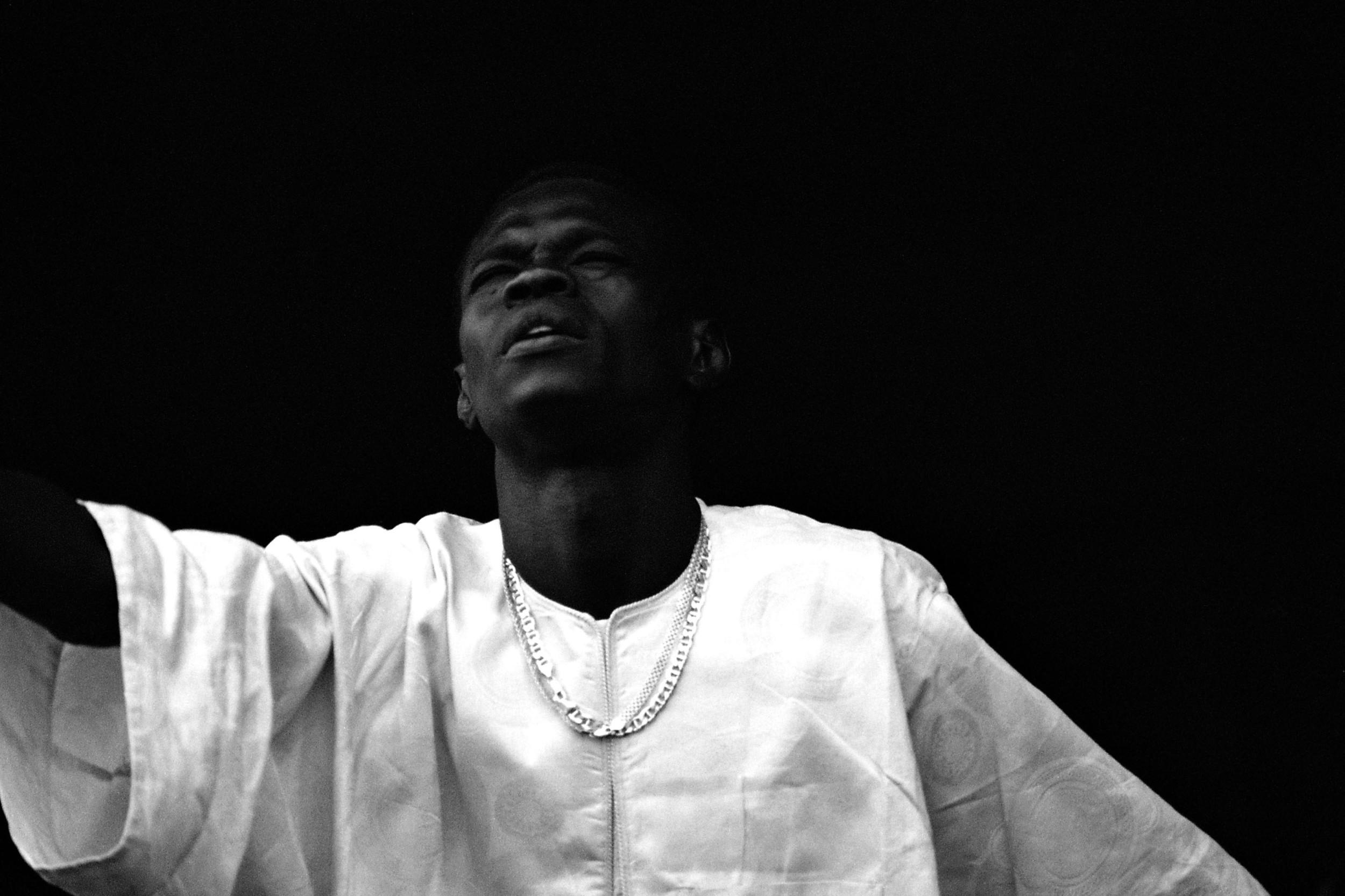 Baaba Maal, Musician. New Orleans 1999
