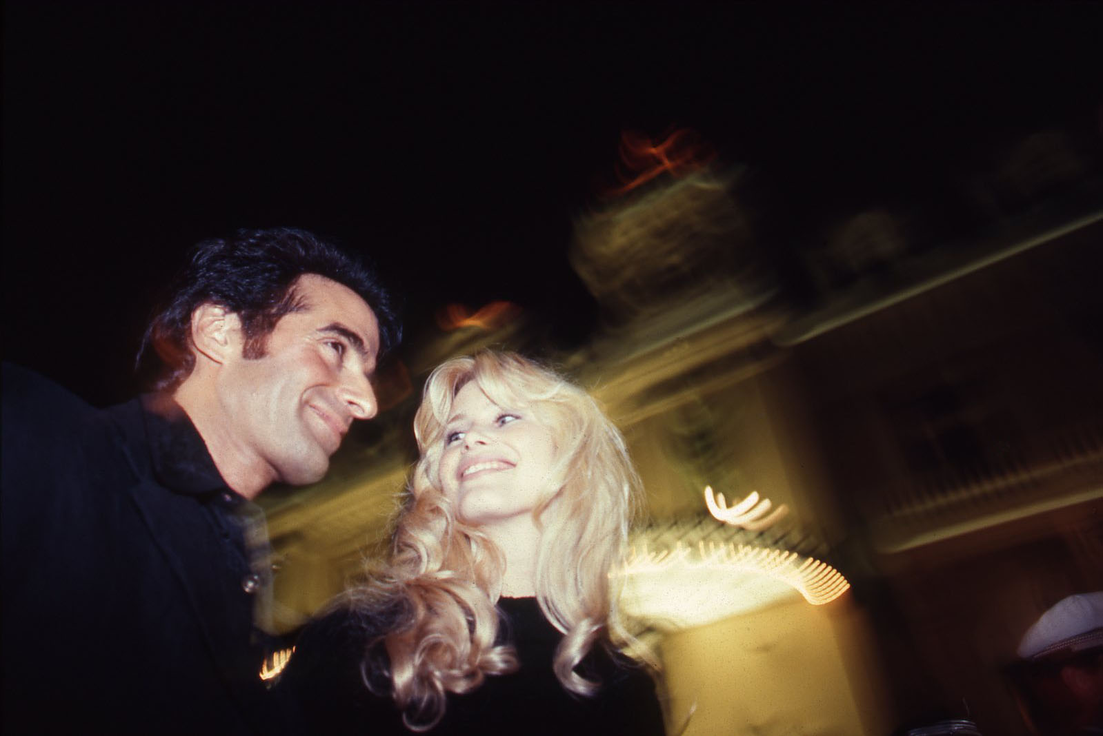 David Copperfield, Magician, and Claudia Schiffer, Model. Monte Carlo 1994