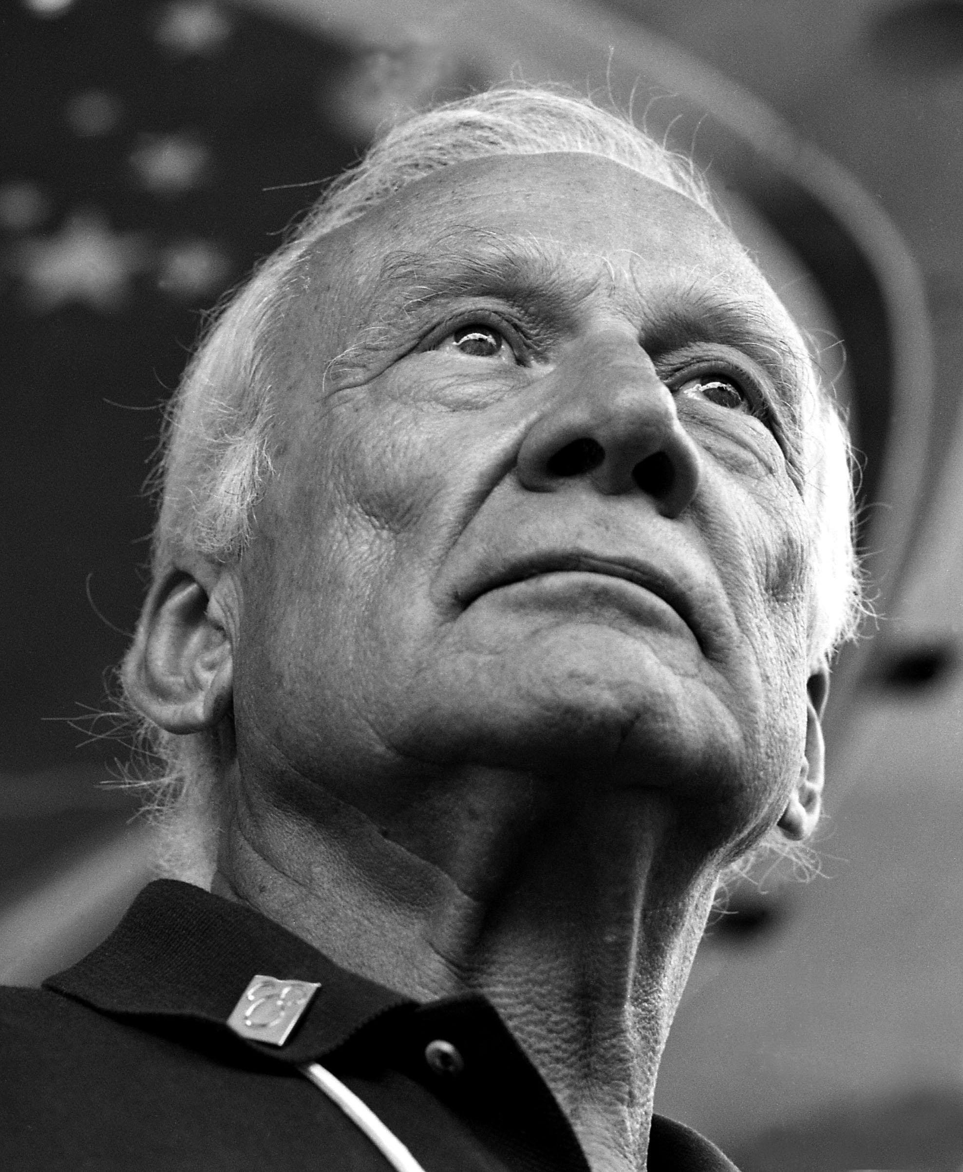 Buzz Aldrin. American astronaut.