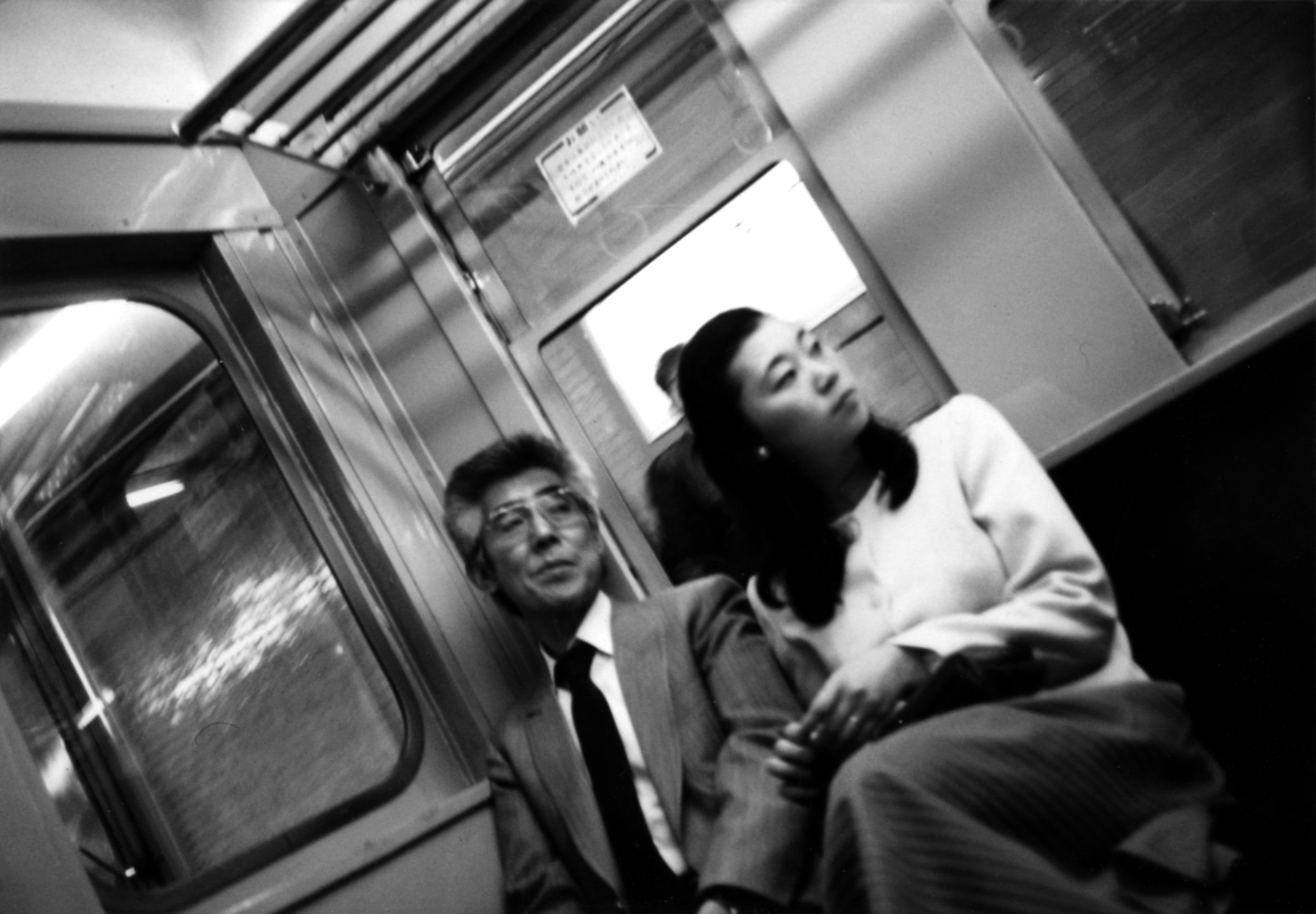 Tokyo Subway 1 B&W.jpg