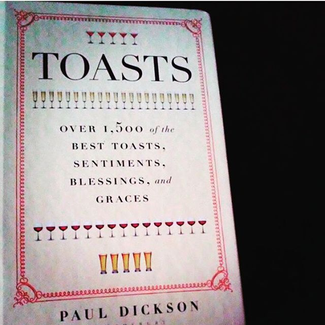 It's #WorldBookDay - so we raise our glass to Paul Dickson's TOASTS which kept us inspired when we were developing our little card game based on people stepping up and speaking their mind. Cheers!