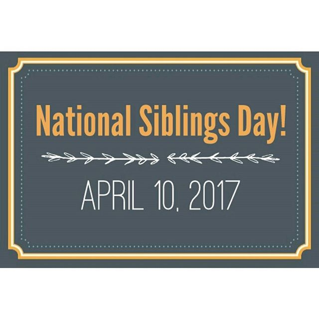 """To siblings: they may be annoying, but most of us cannot imagine life without them!"" Need some inspiration when celebrating National Siblings Day? We got you... #nationalsiblingday #gamenight #cheers"