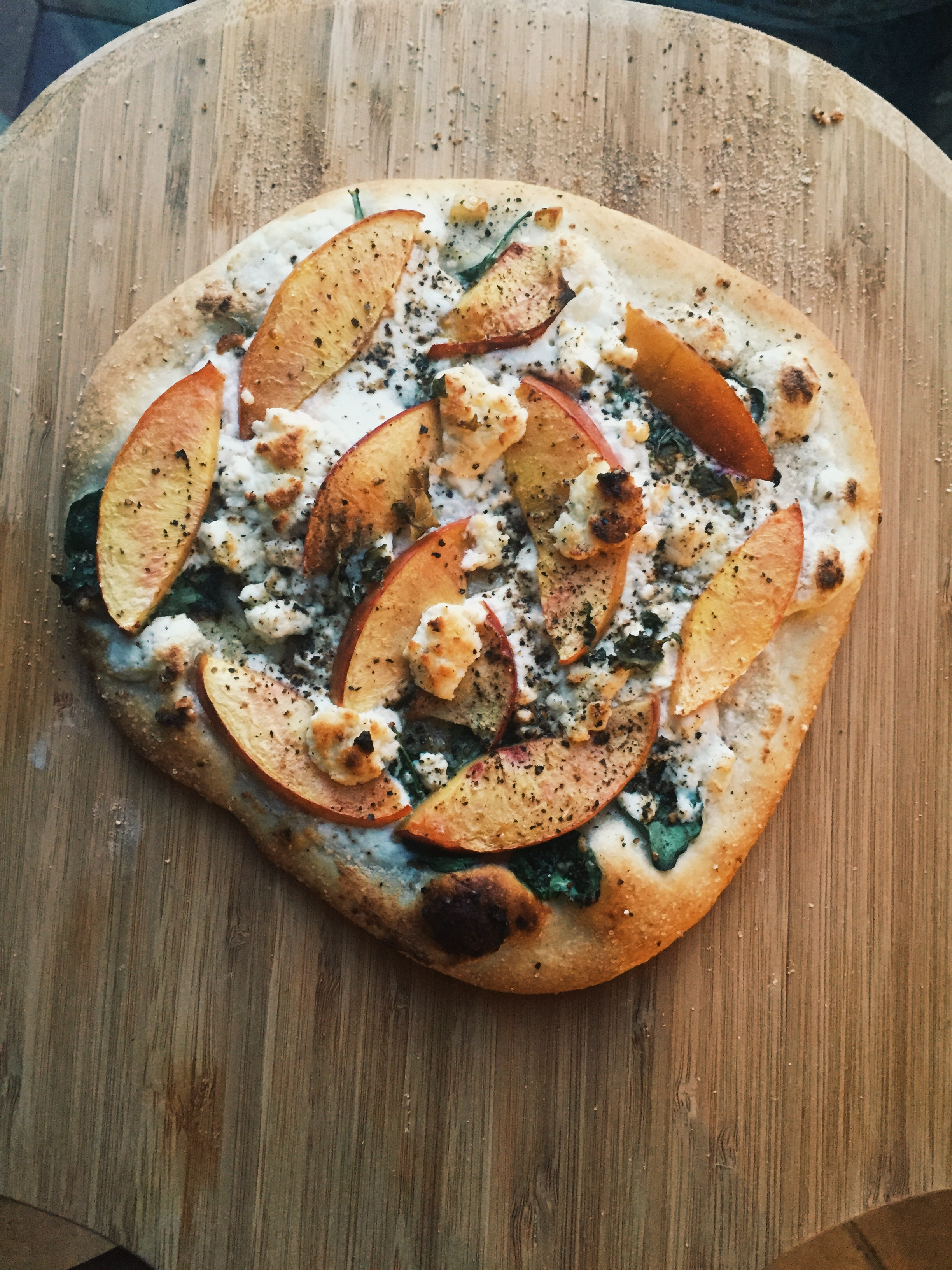 PEACH PIZZA!