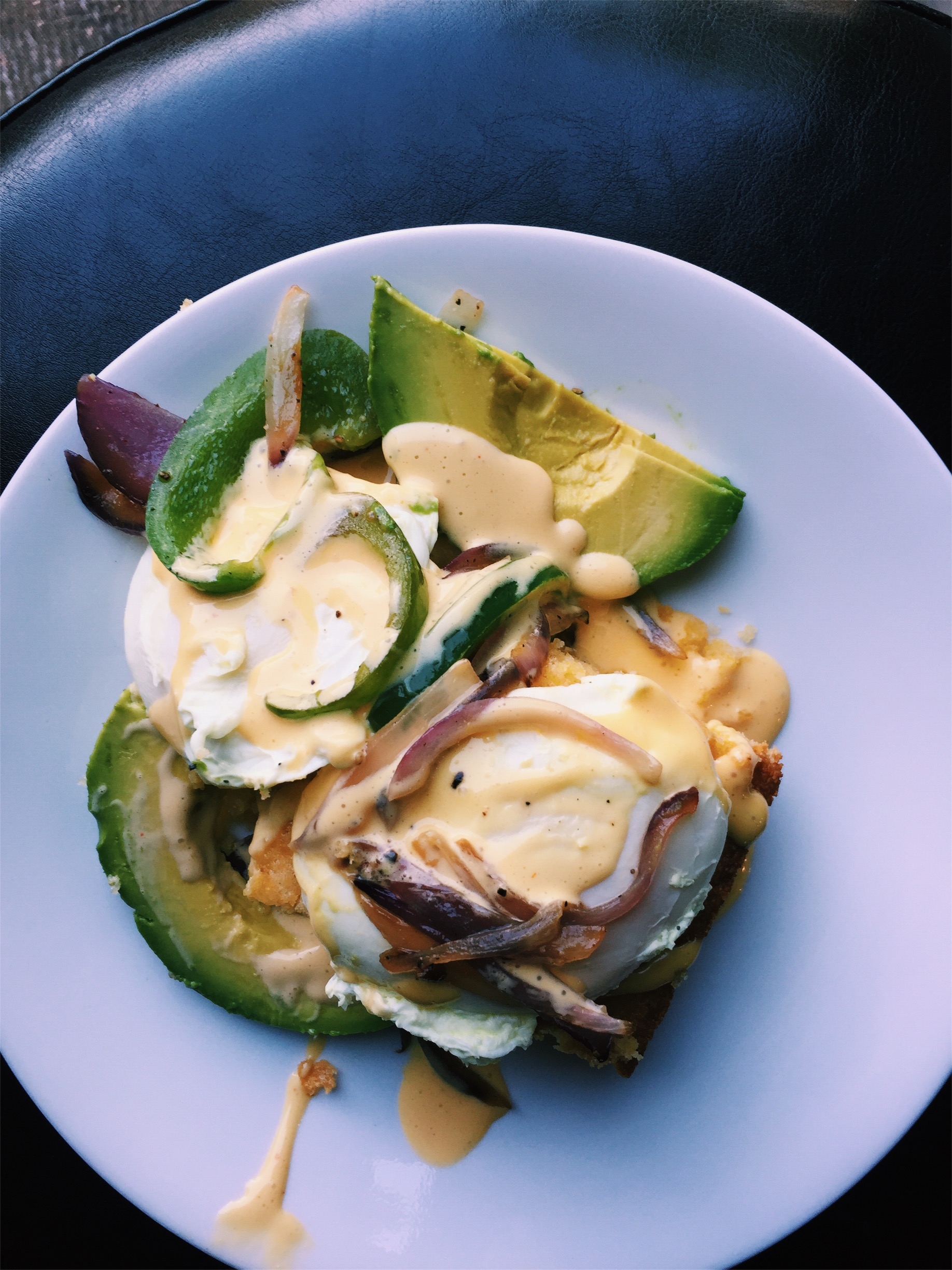 Southern Eggs Benedict - ..a Southern canvas