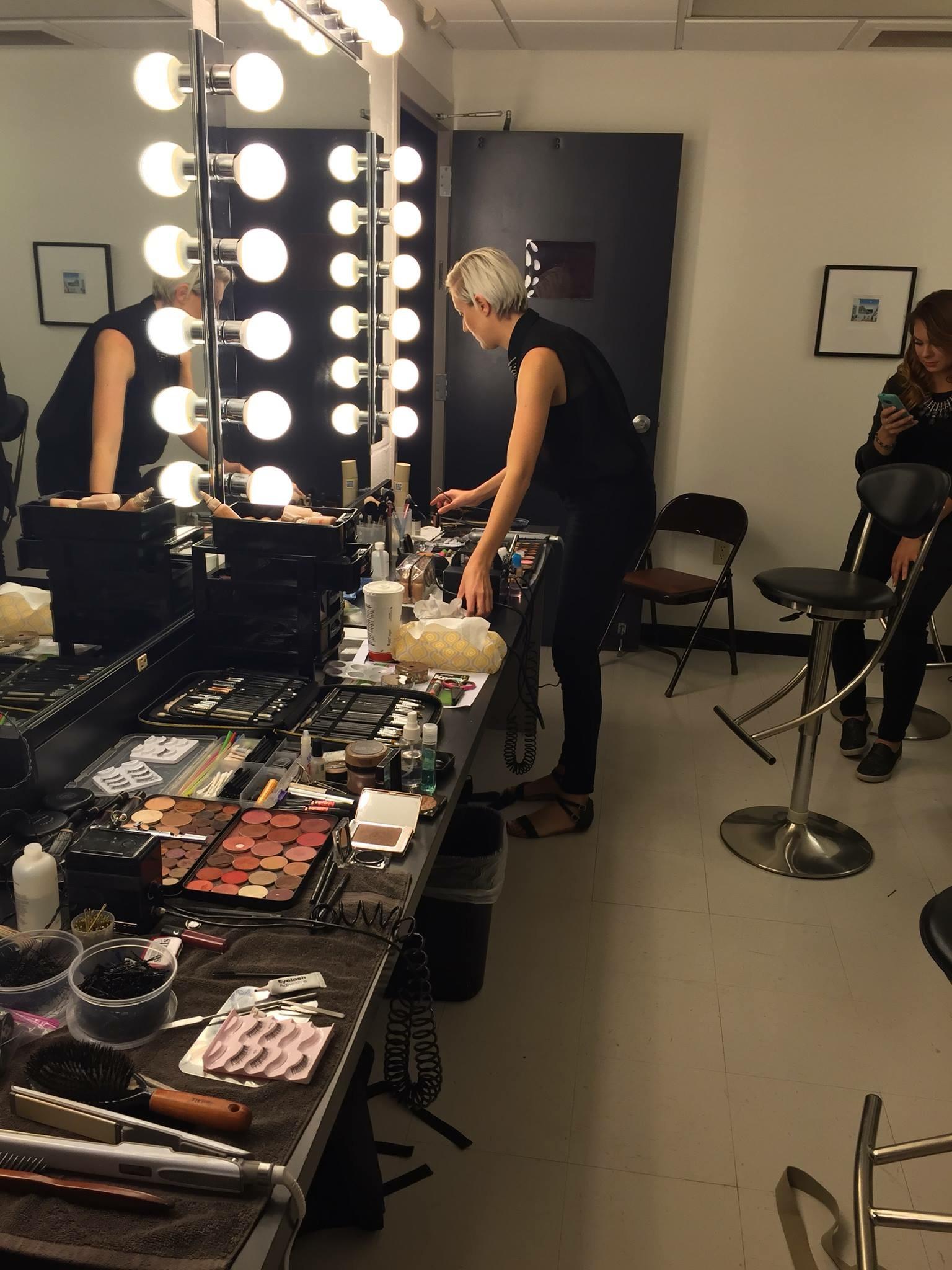Working backstage