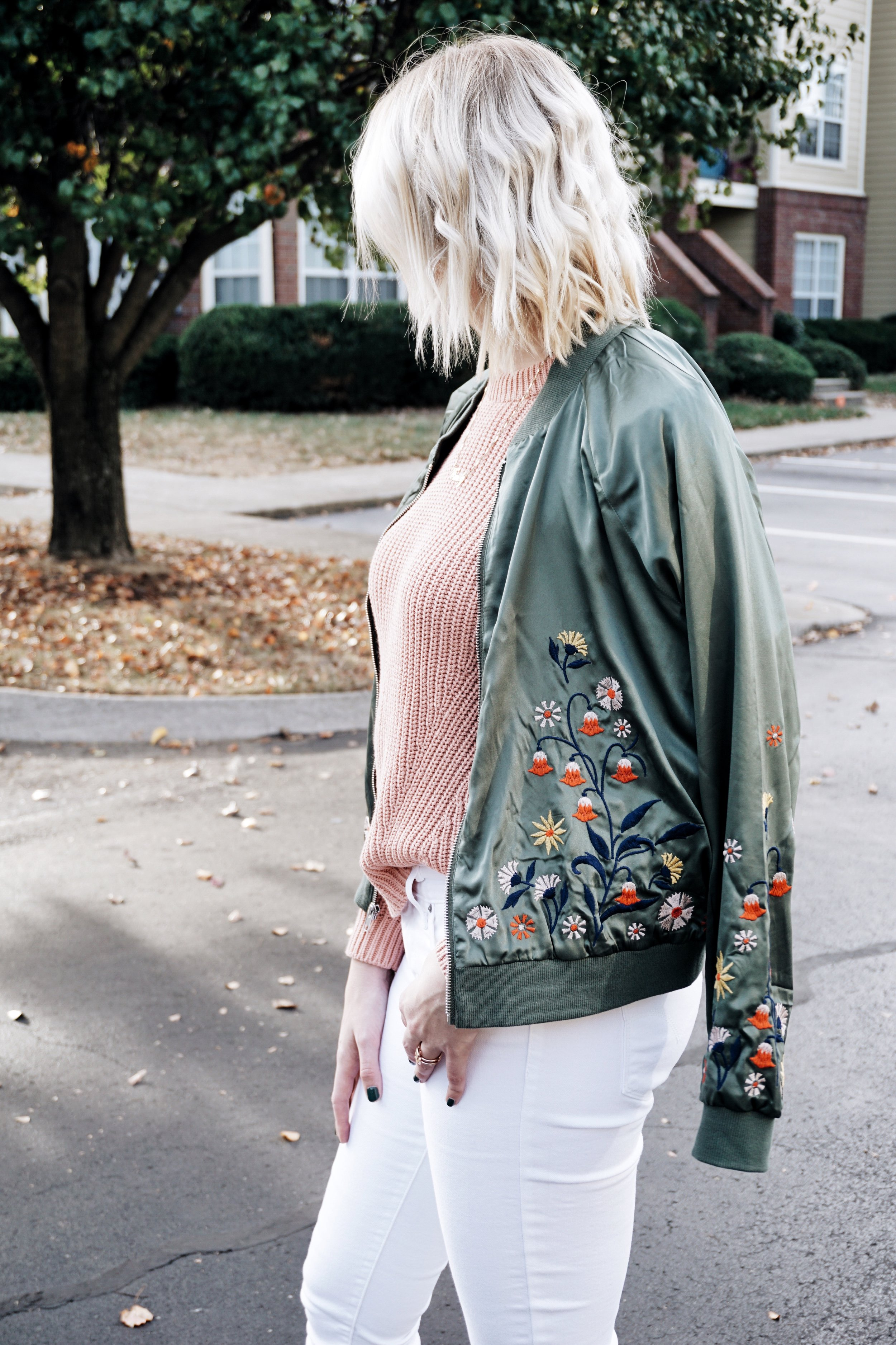 EMBROIDERED JACKET || Blush + Soul