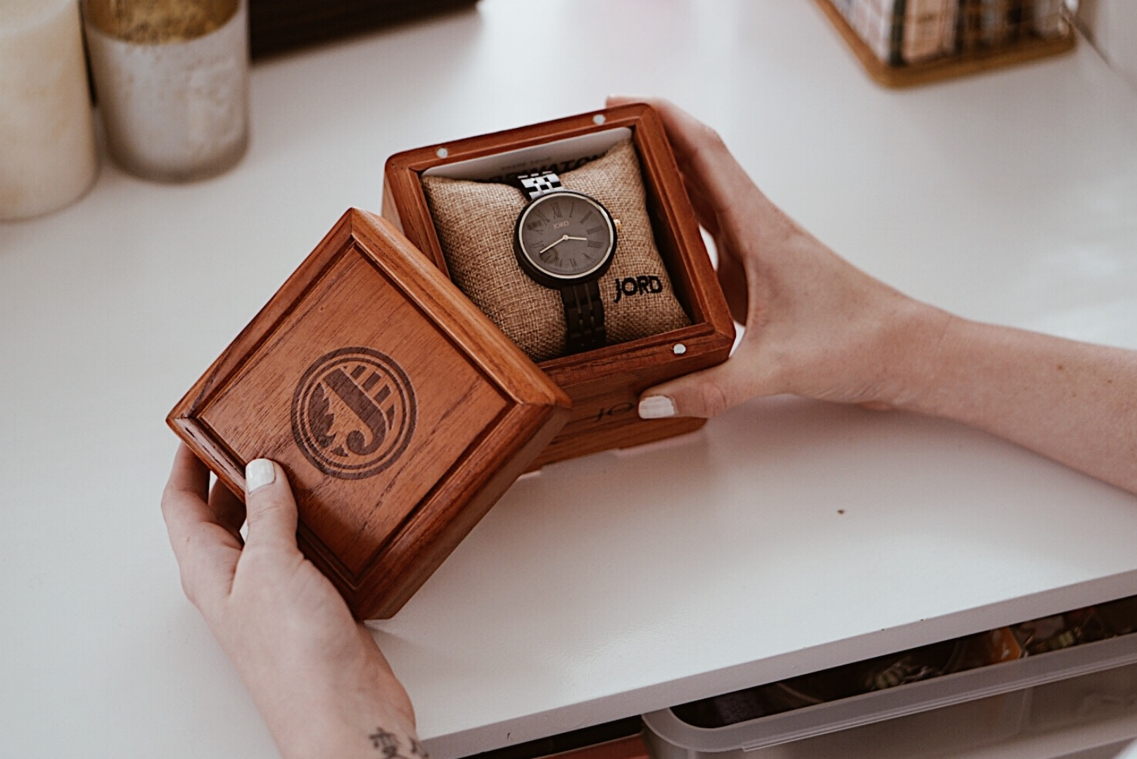 Spring Trend - Wooden Watches - Outfit of the Day