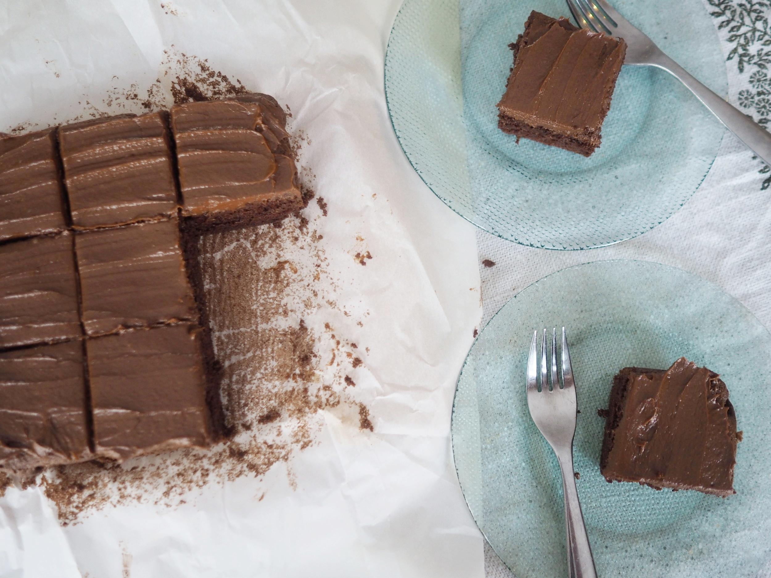 The Grain Free Chcolate Brownie Cake
