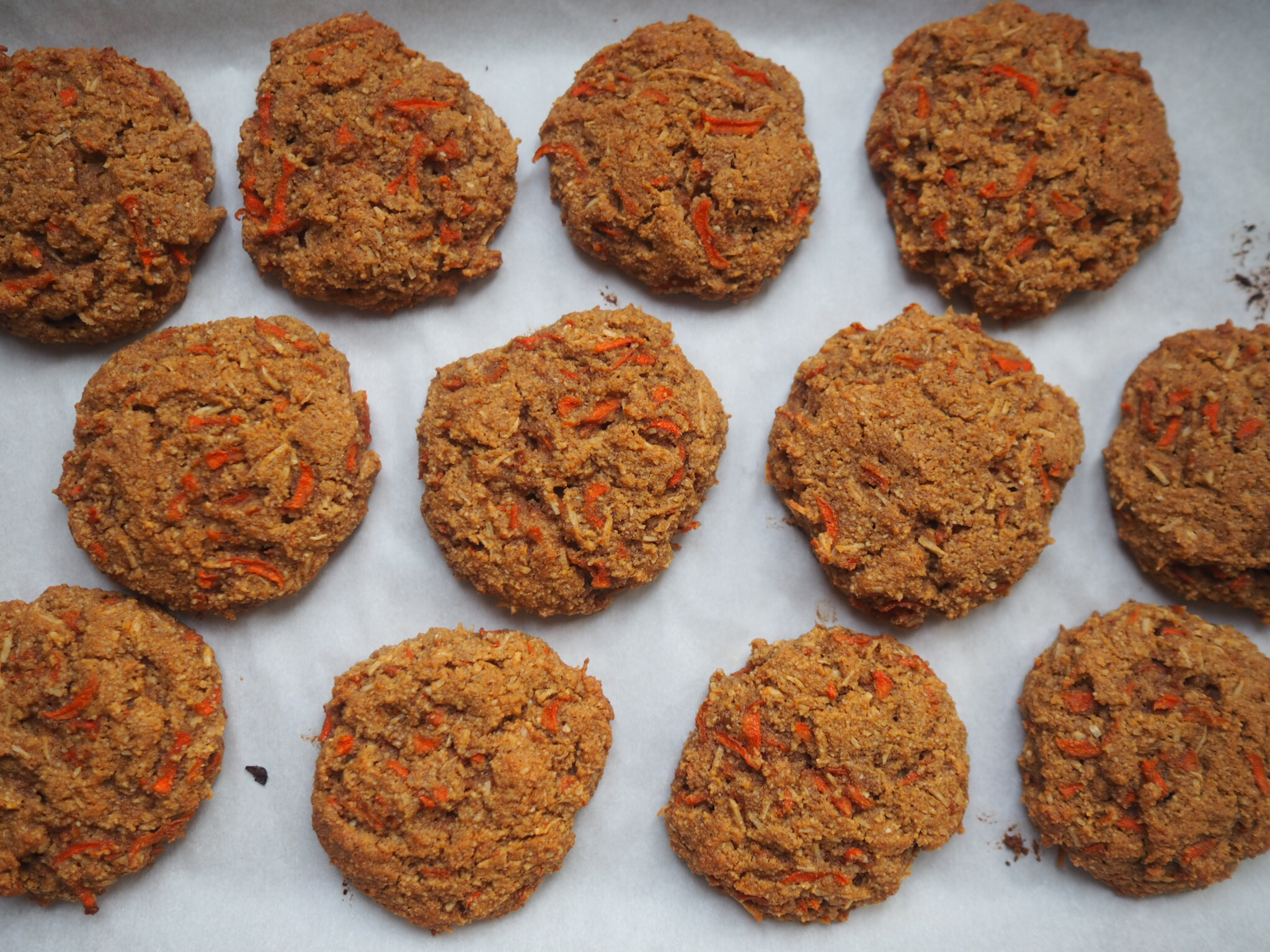 Feel better carrot cake cookies