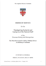 Download the Order of Service [PDF 3.6Mb]