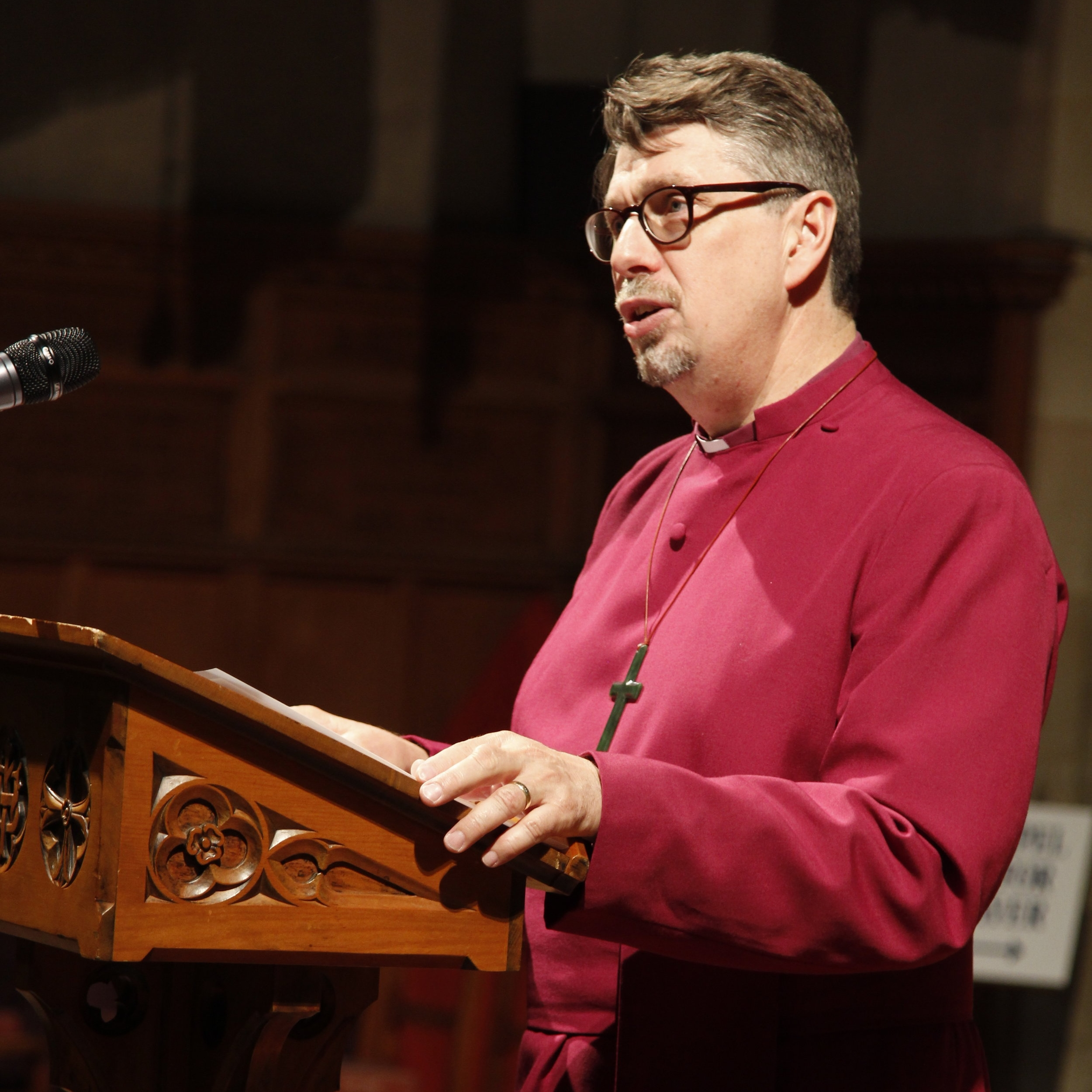 The Right Reverend Dr Tim Harris, Administrator of the Diocese of Adelaide (Sede Vacante)