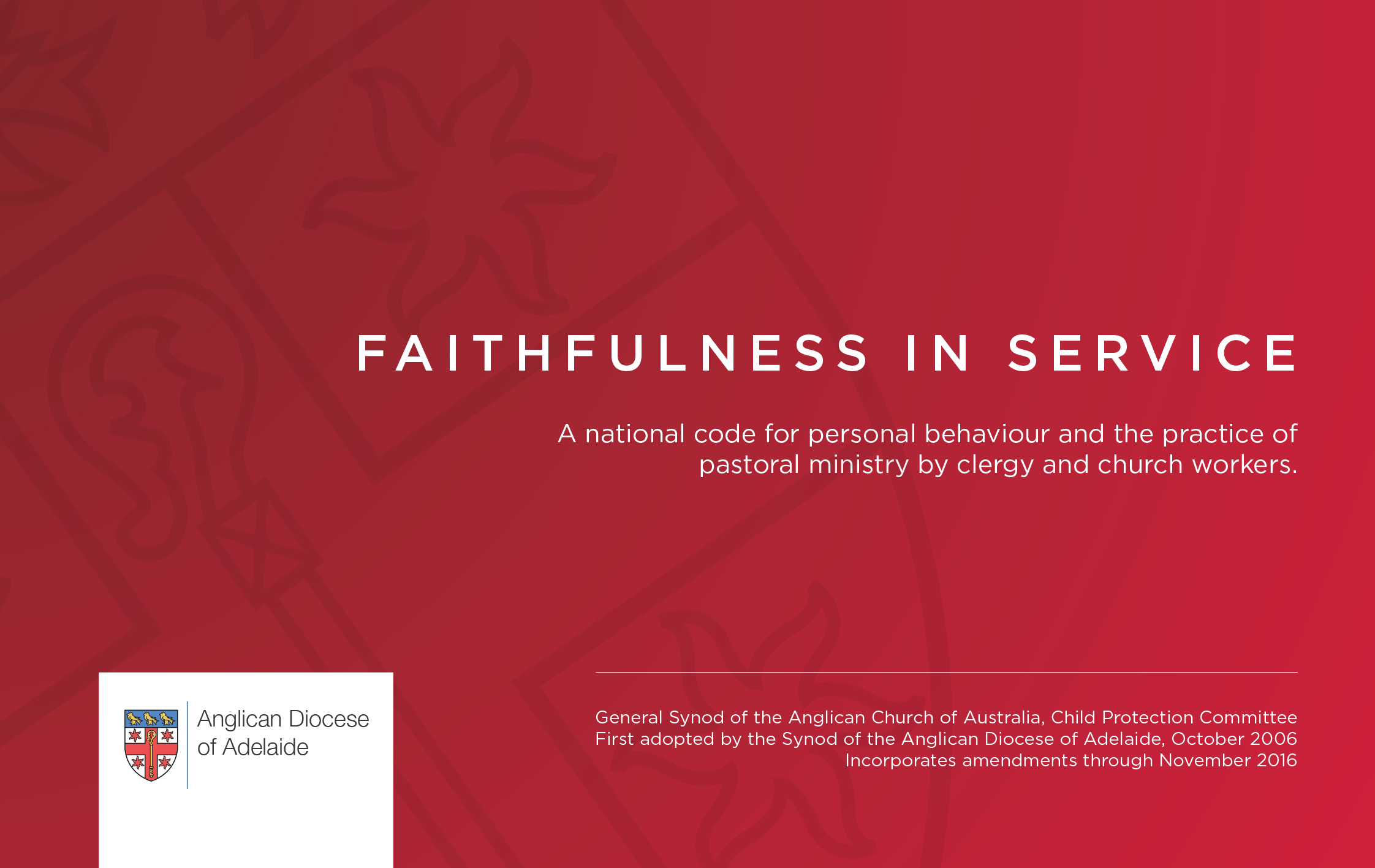 Download Faithfulness In Service Booklet