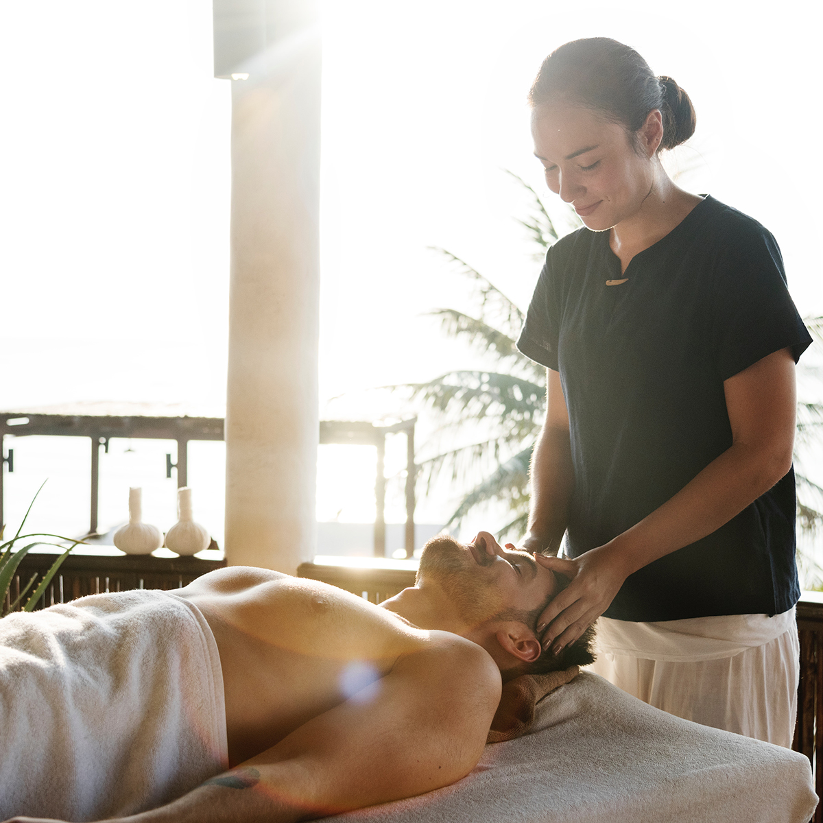 + Massage - Hit up Groupon, Yelp, or your favorite local massage parlor and get a gift certificate for your friend. I recommend a couples' massage if they have a partner, or a certificate for more than one rub.