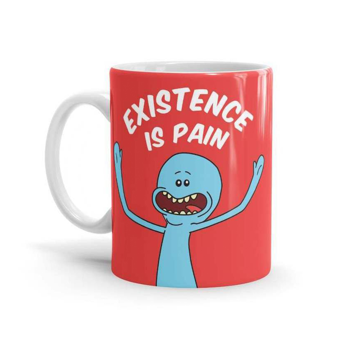 + Depressing mug - Because we all know this is a fact, whether you like Rick and Morty or not.(Image via WickedGiftStore on Etsy)