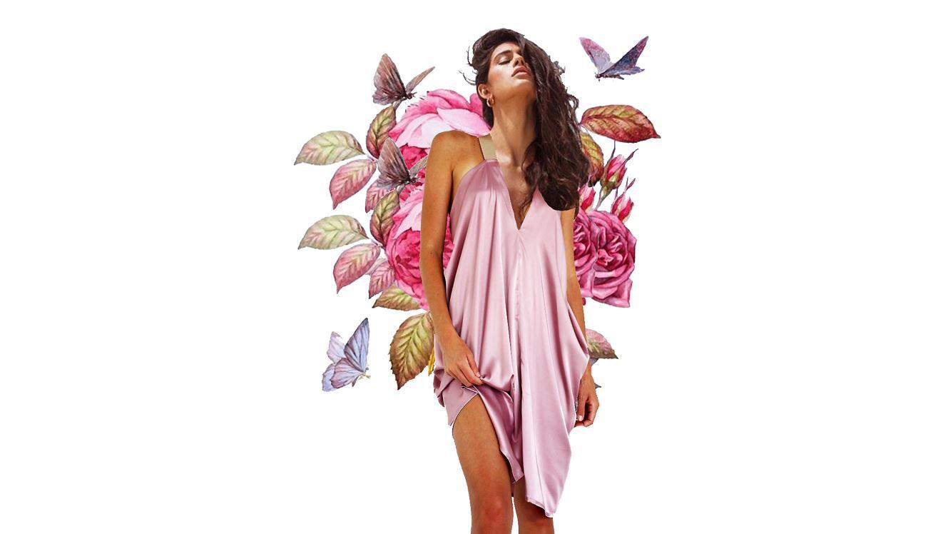 MERAKI GODDESS BUTTERFLY BRIDESMAIDS DRESS FLOWERS COLLAGE ART LOVE 2.JPG