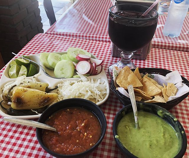 Tbt to the amazing salsa and toppings spreads in Mexico City and La Paz.