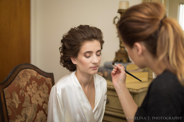 sacramento wedding photographer bridal makeup